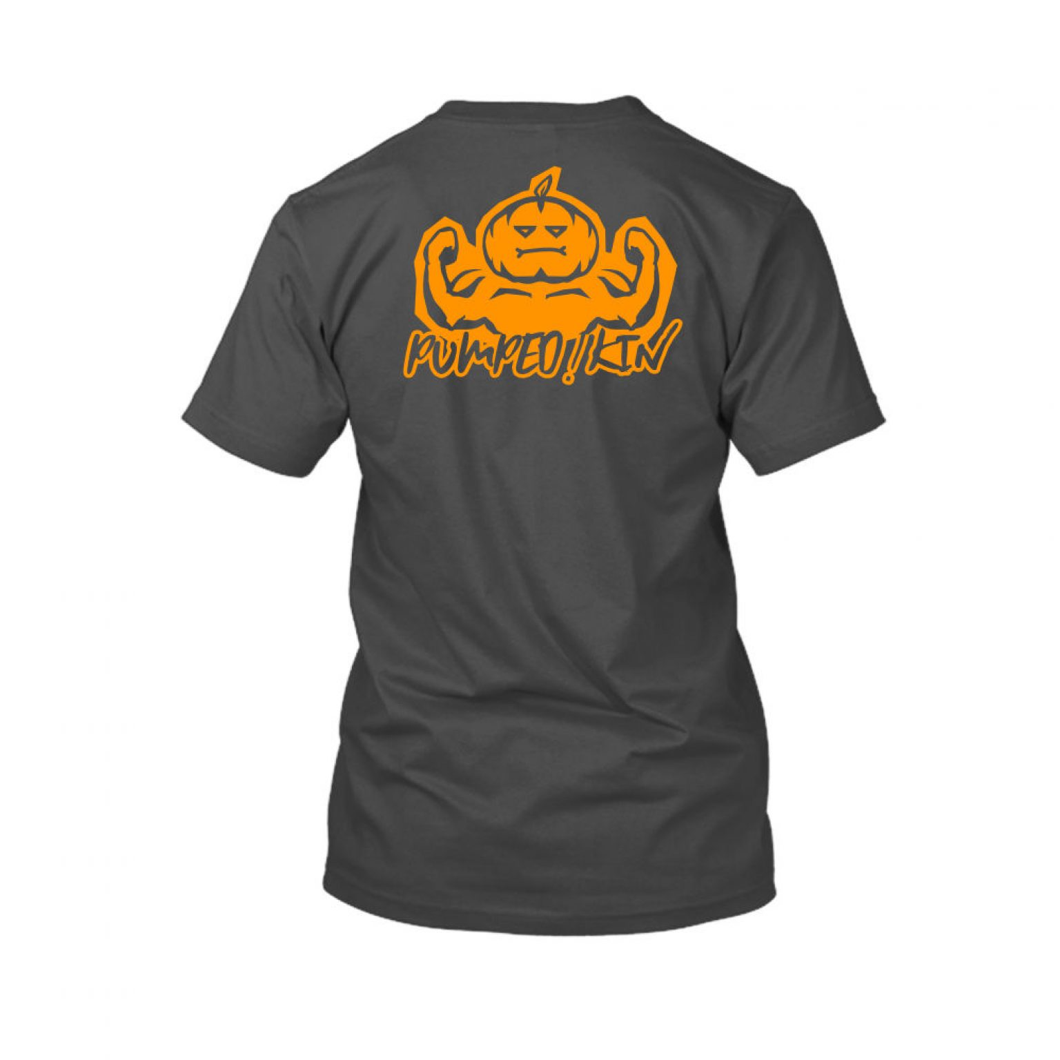 pumpedkin shirt herren charcoal back