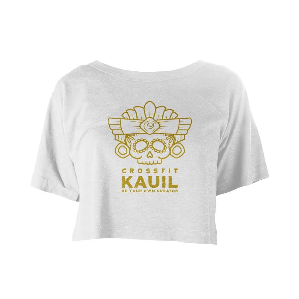 CrossFit Kauil Festival Weiss gold