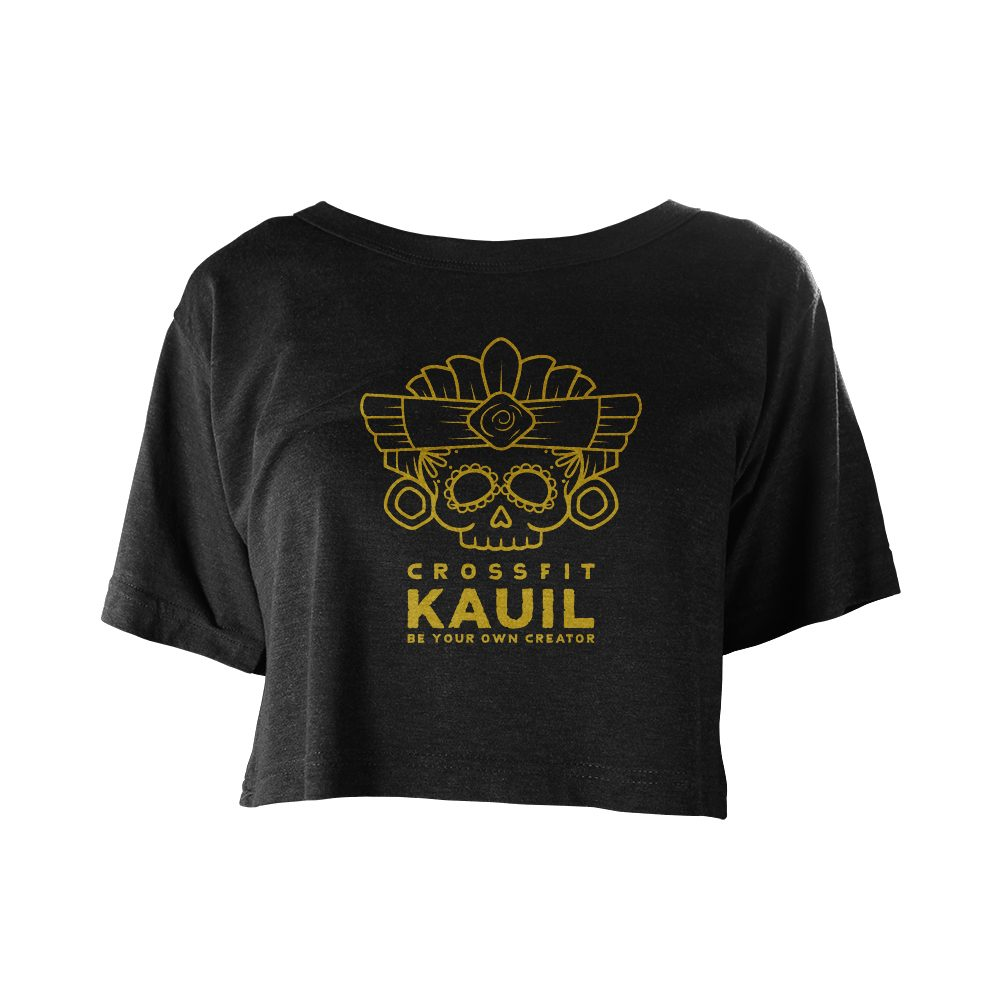 CrossFit Kauil Festival schwarz gold