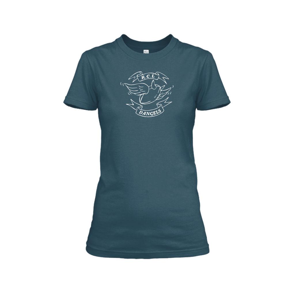 Dangels classic damen shirt navy