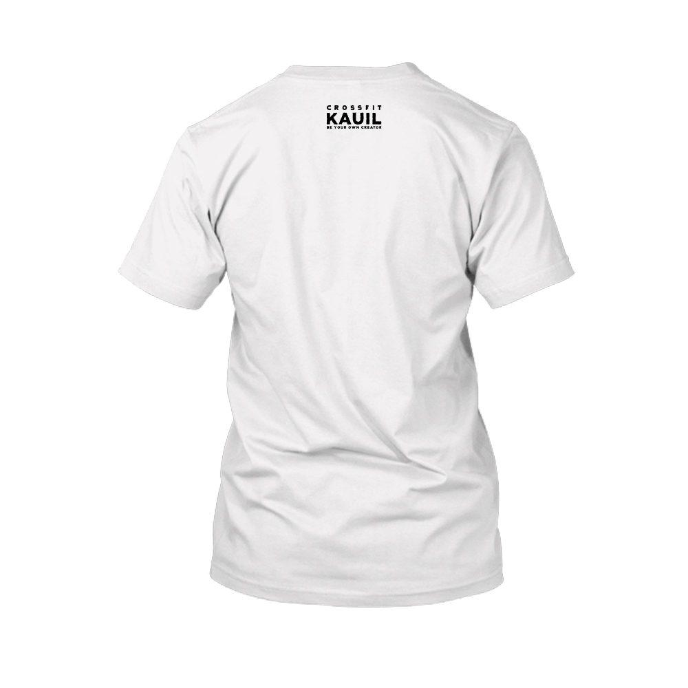 Herren Shirt Weiss schwarz back 1