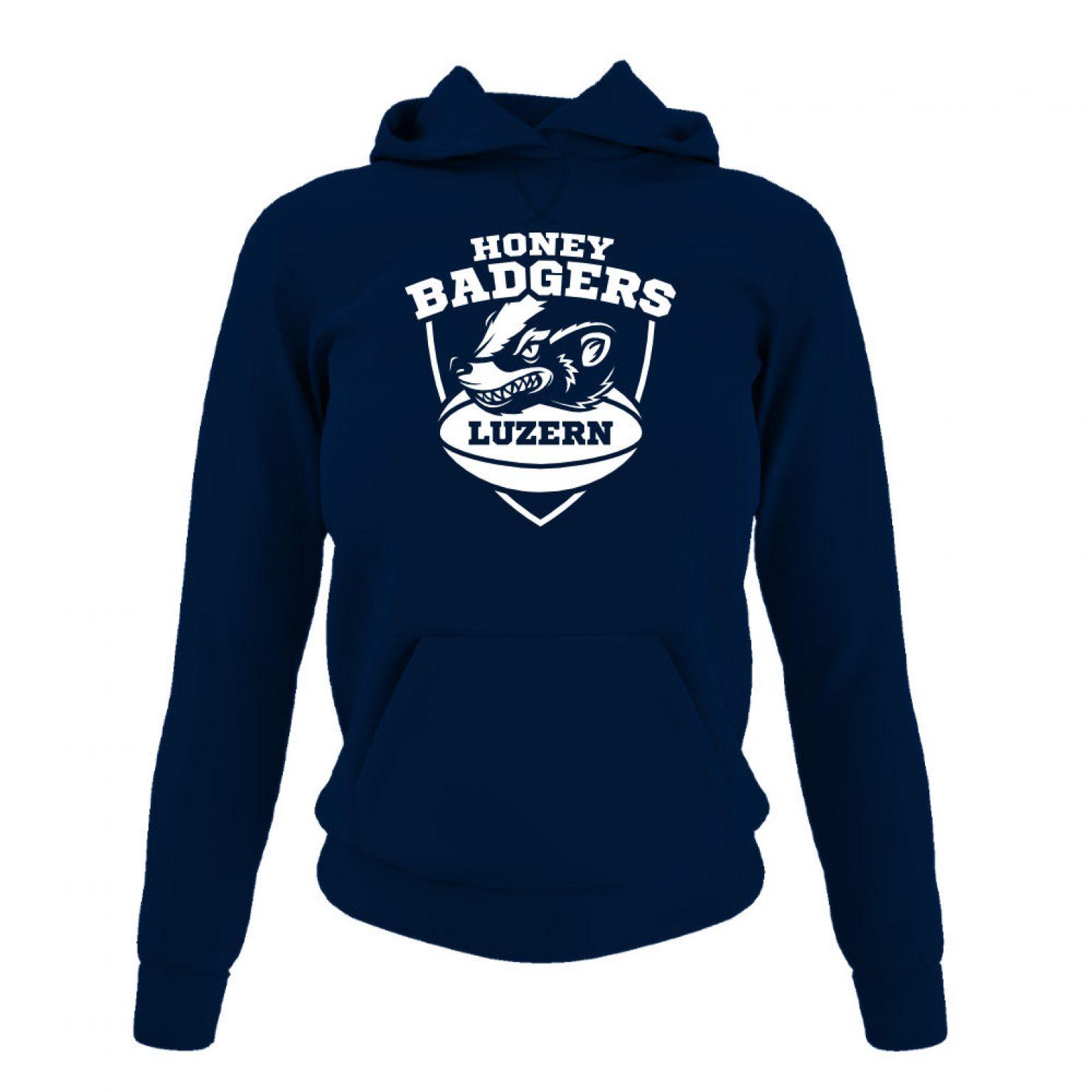 Honeybadgers hoodie damen navy