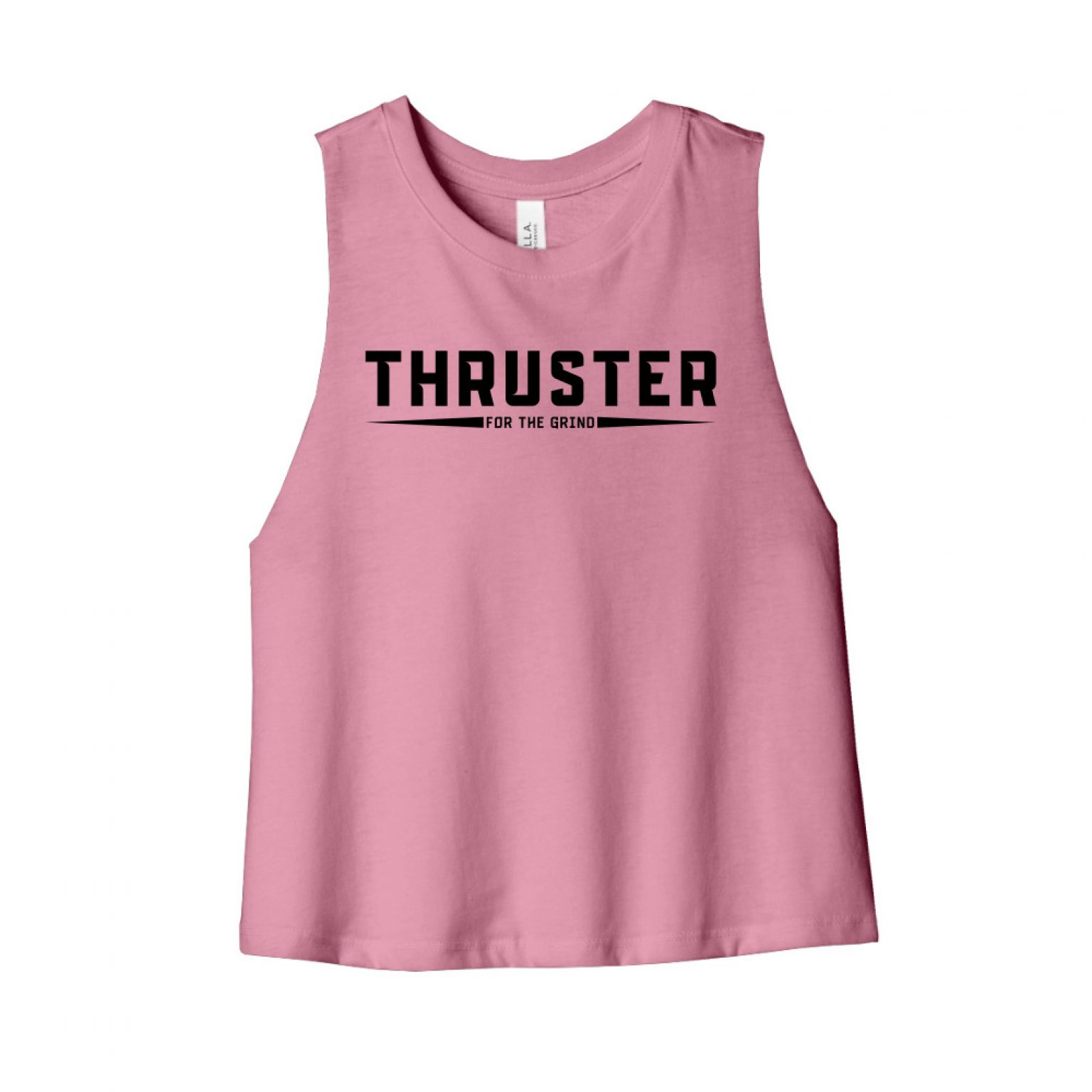 Thruster cropped mauve