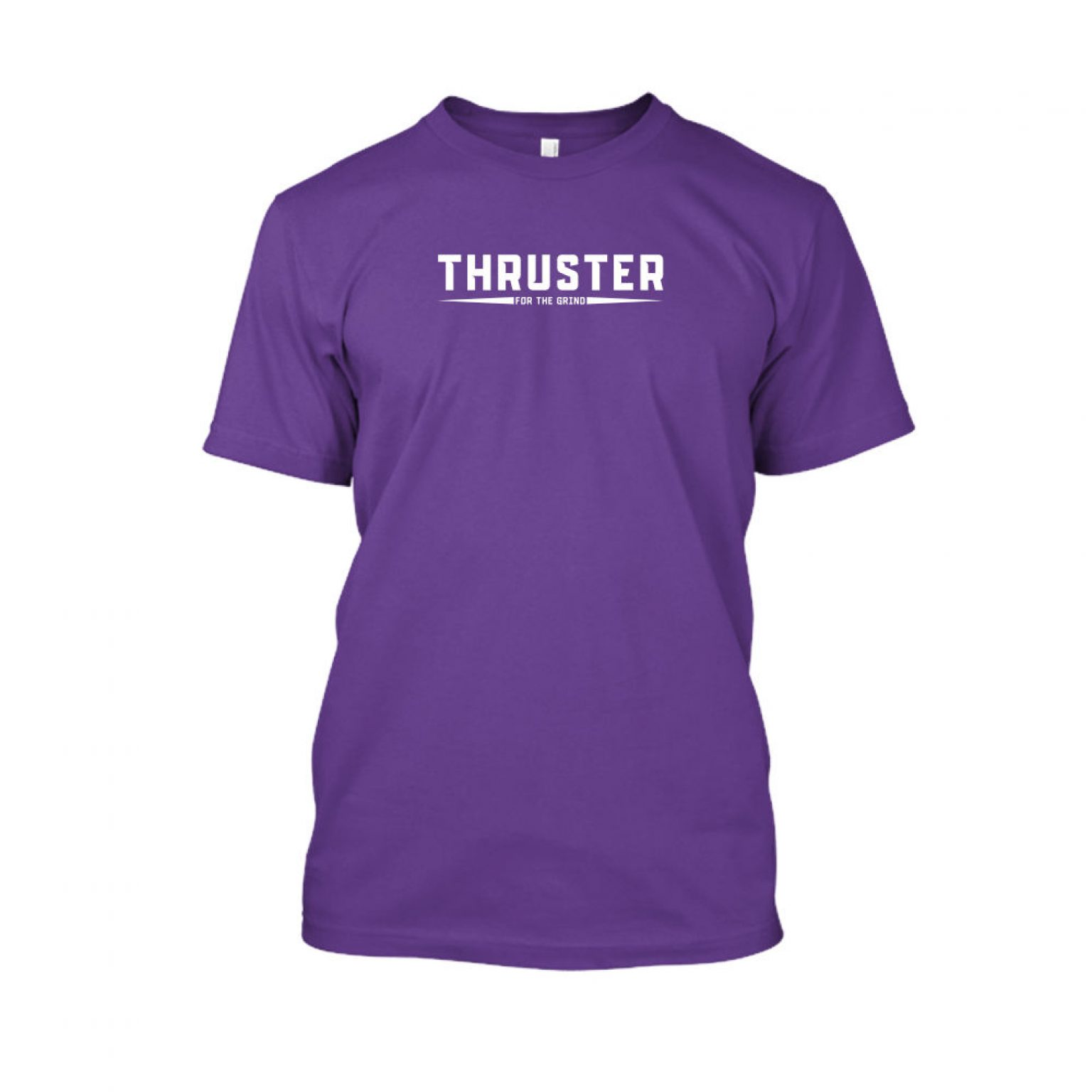 Thruster shirt herren purple