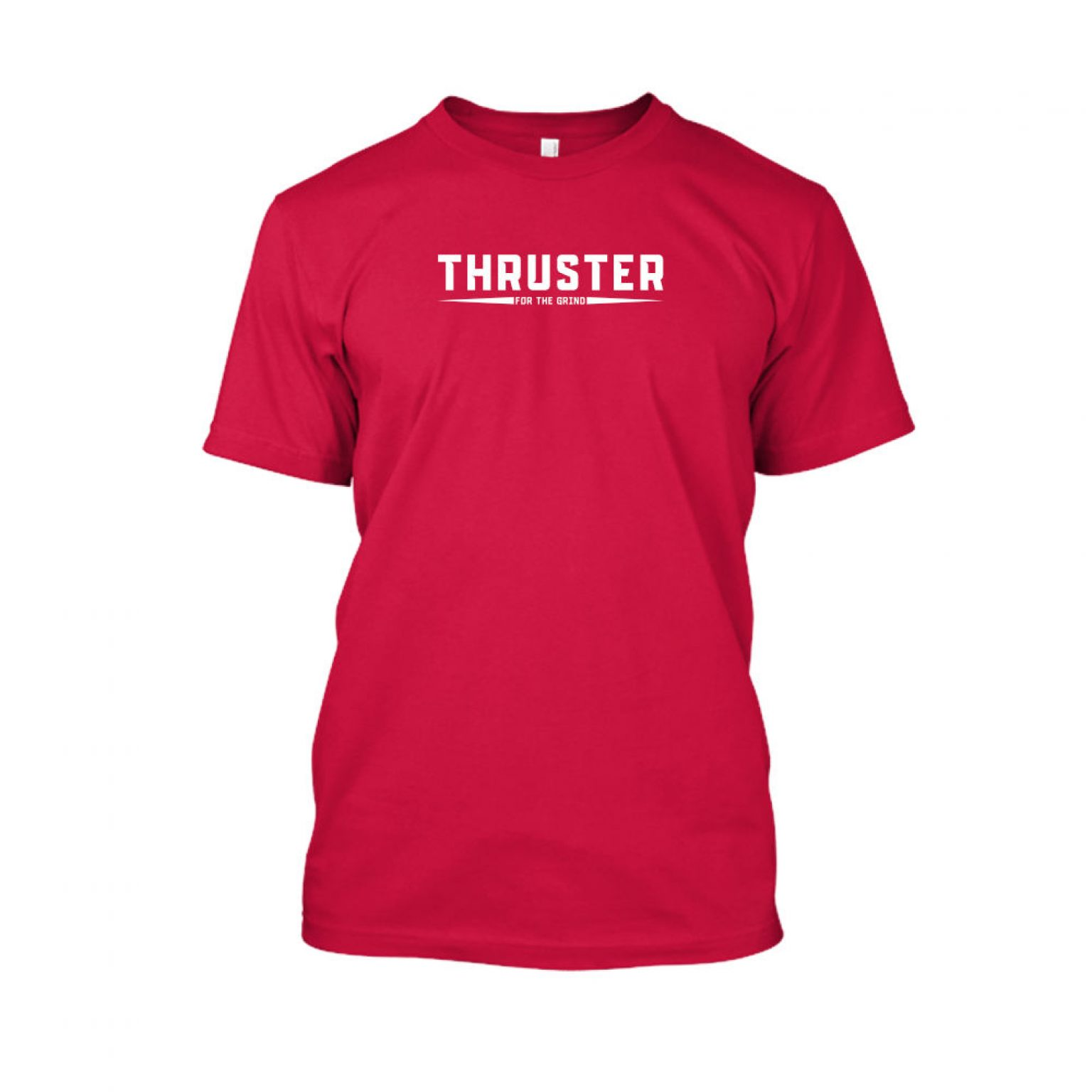 Thruster shirt herren red