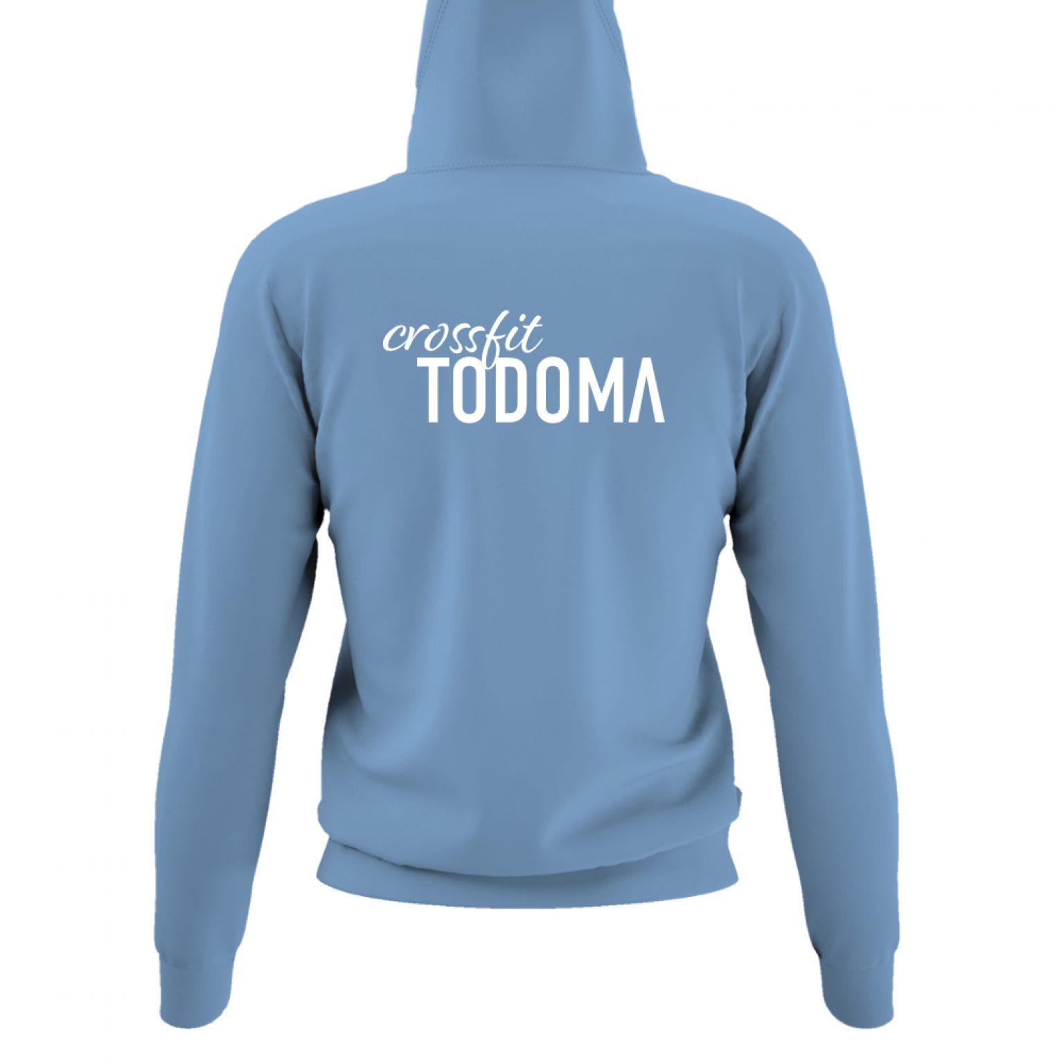 Todoma DamenHoody Sky back