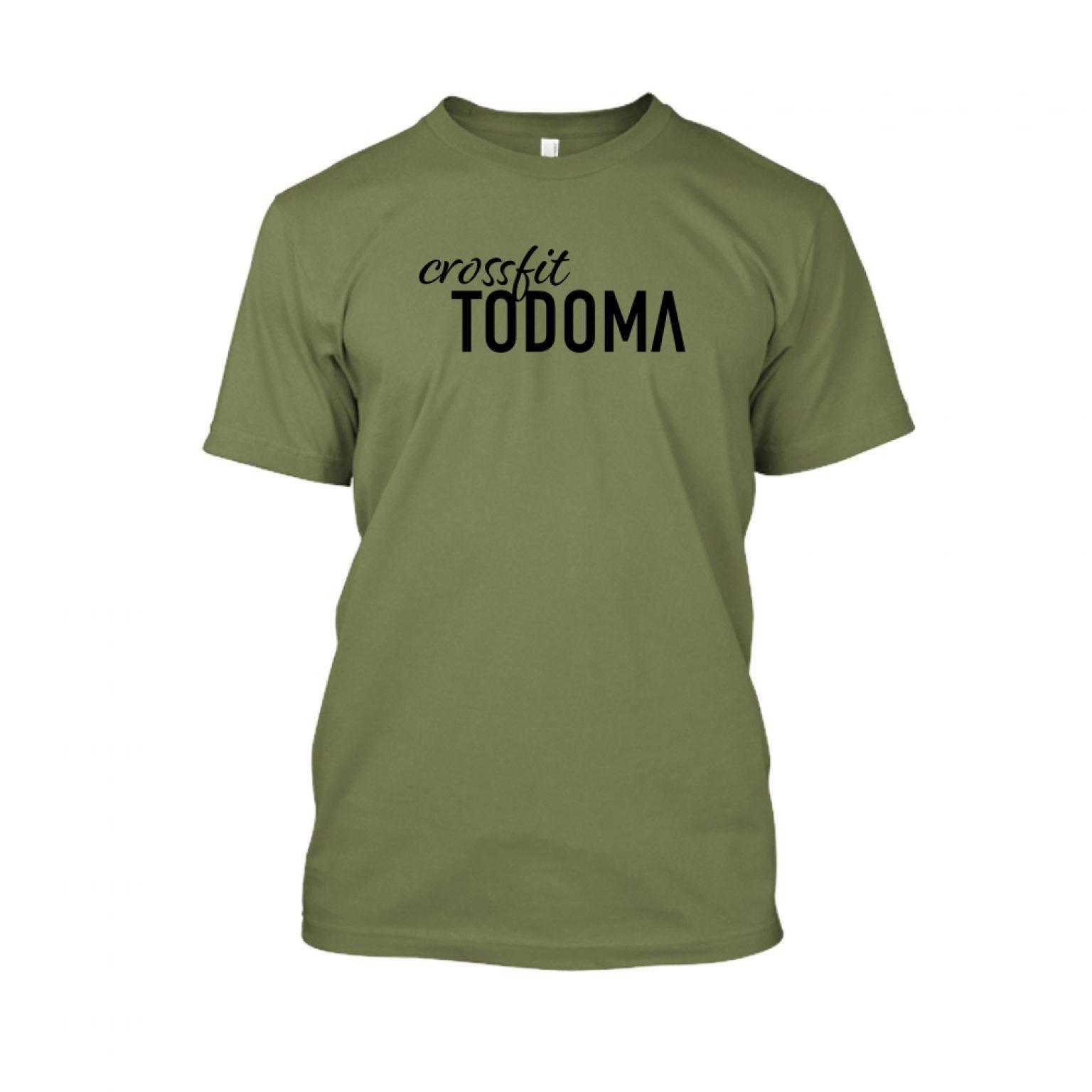 Todoma Herren Shirt Military Back