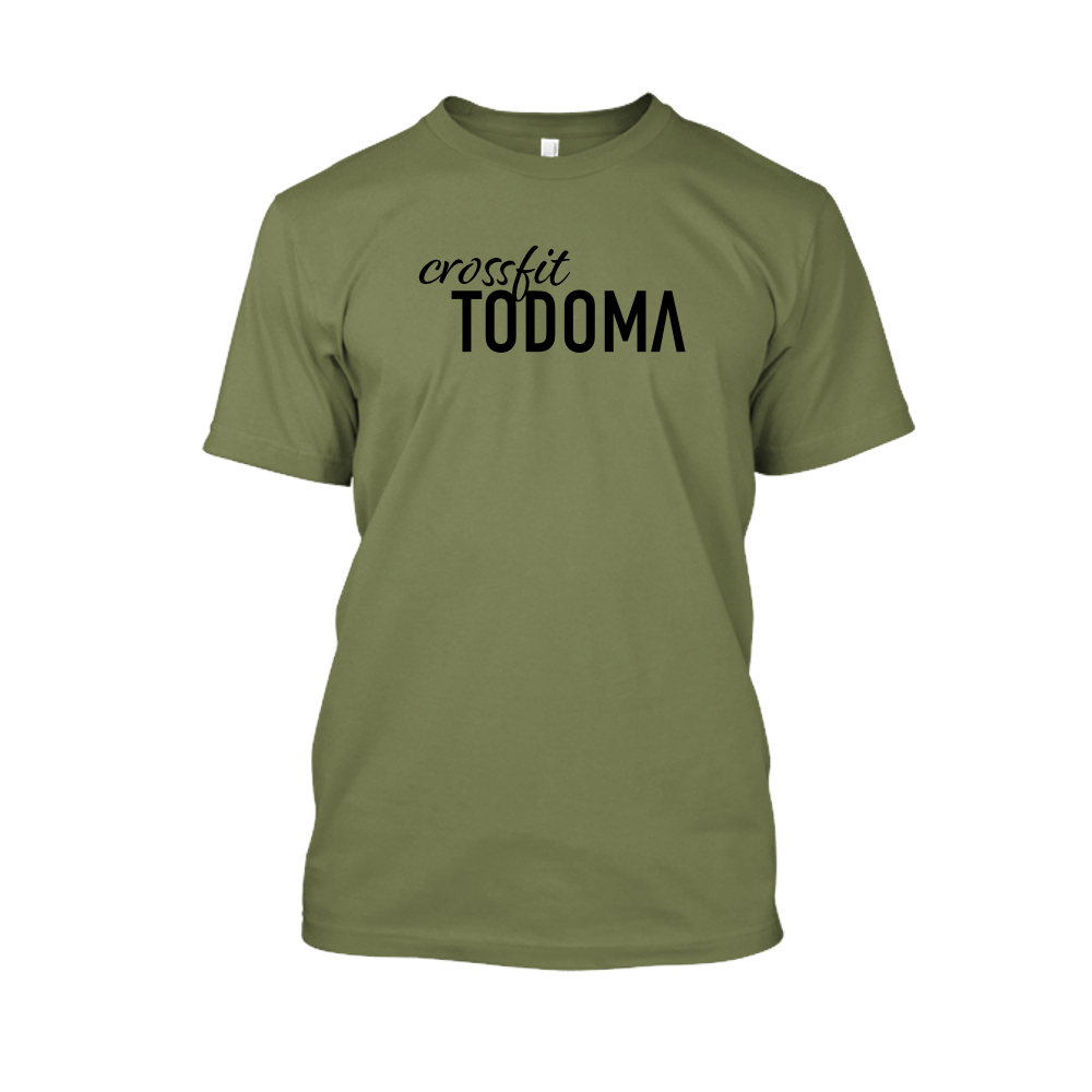 Todoma Herren Shirt Military Back