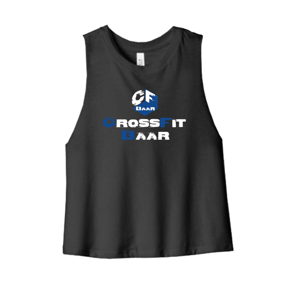 crossfit baar cropped black