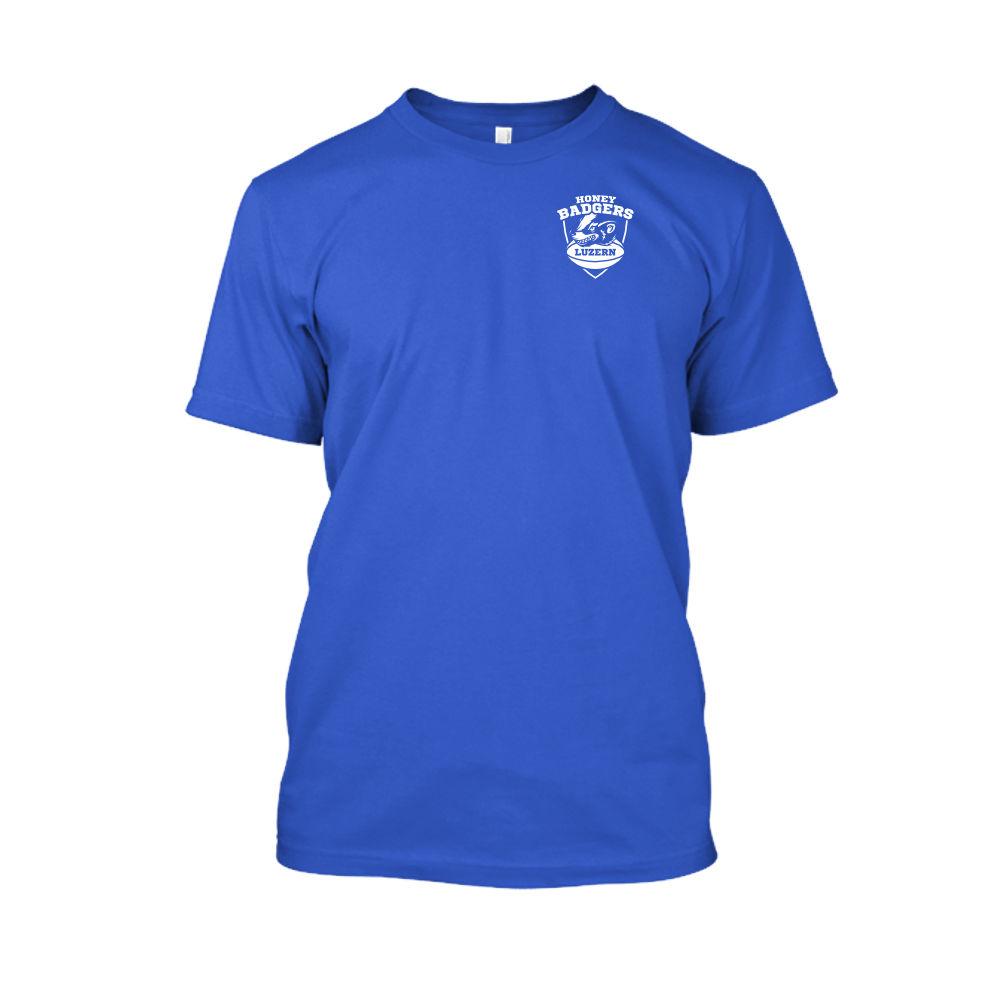 honeybadgers classic small Shirt herren blue