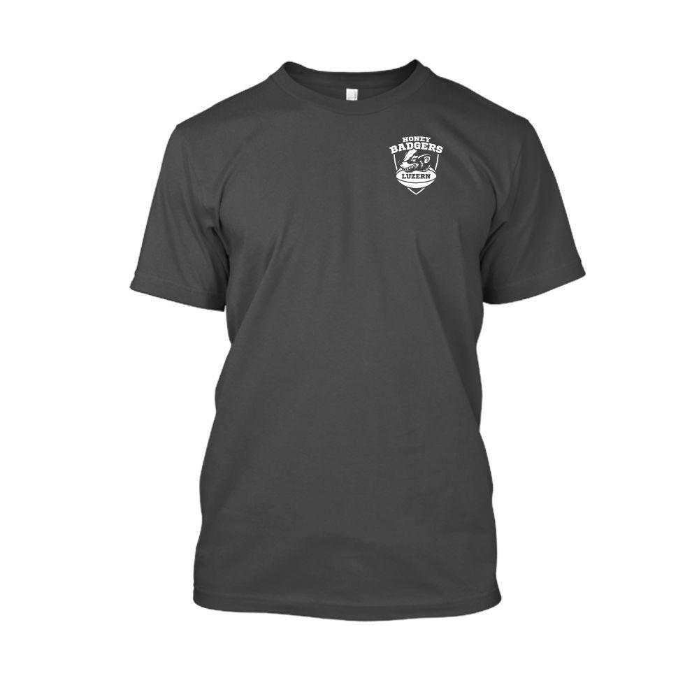 honeybadgers classic small Shirt herren charcoal