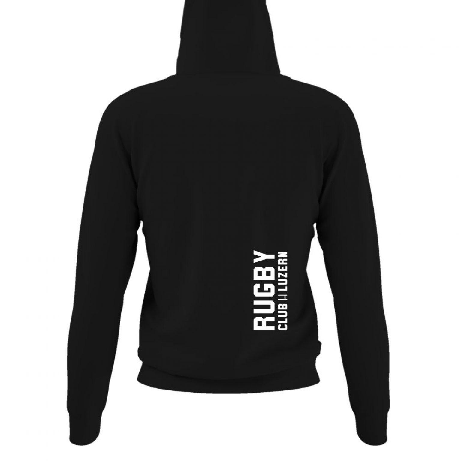 hoodie damen back black