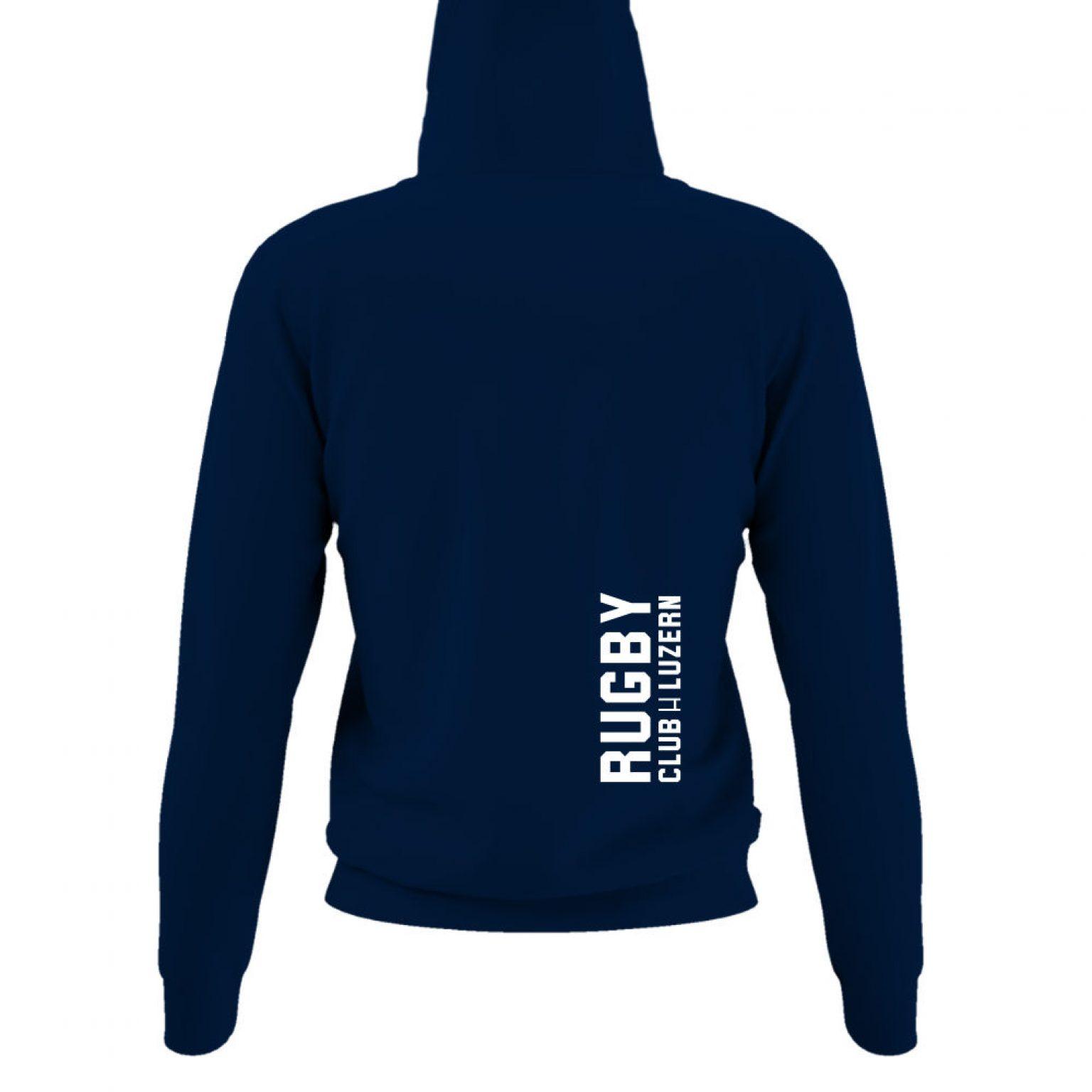 hoodie damen back navy