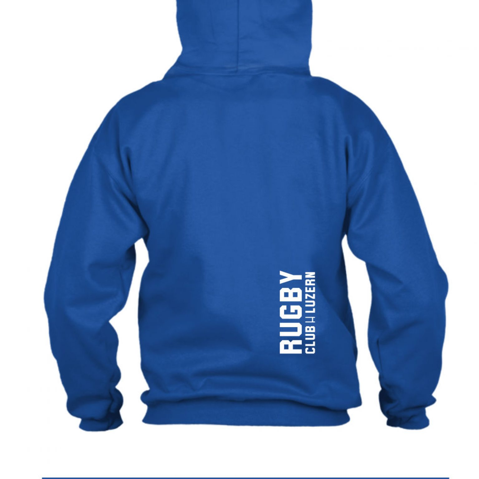 hoodie herren back blue