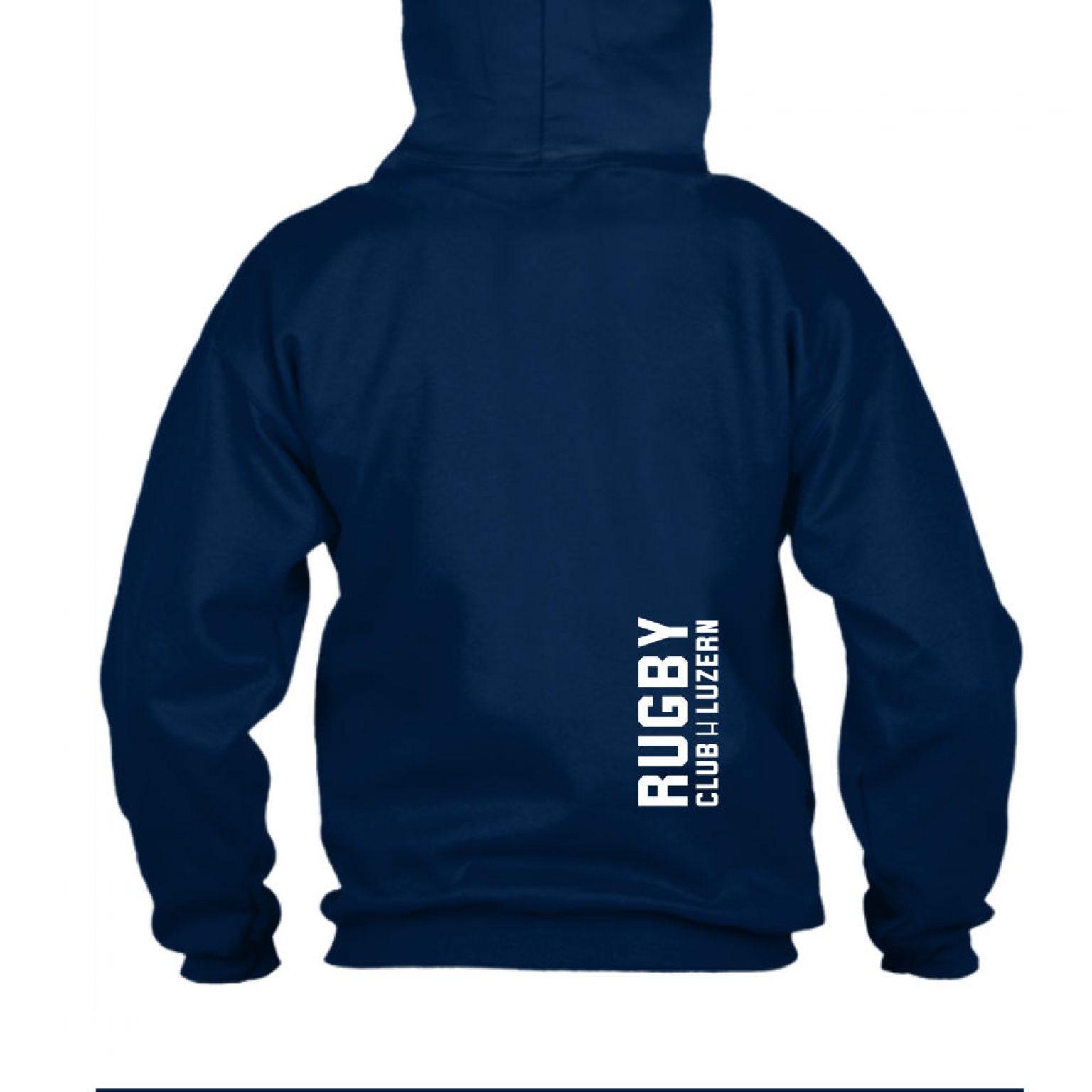 hoodie herren back navy