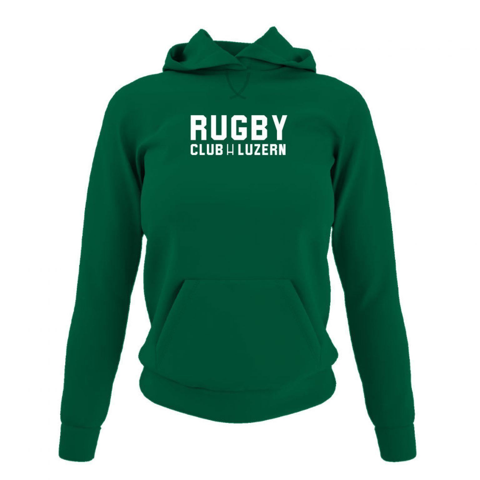 rugbyH hoodie damen green