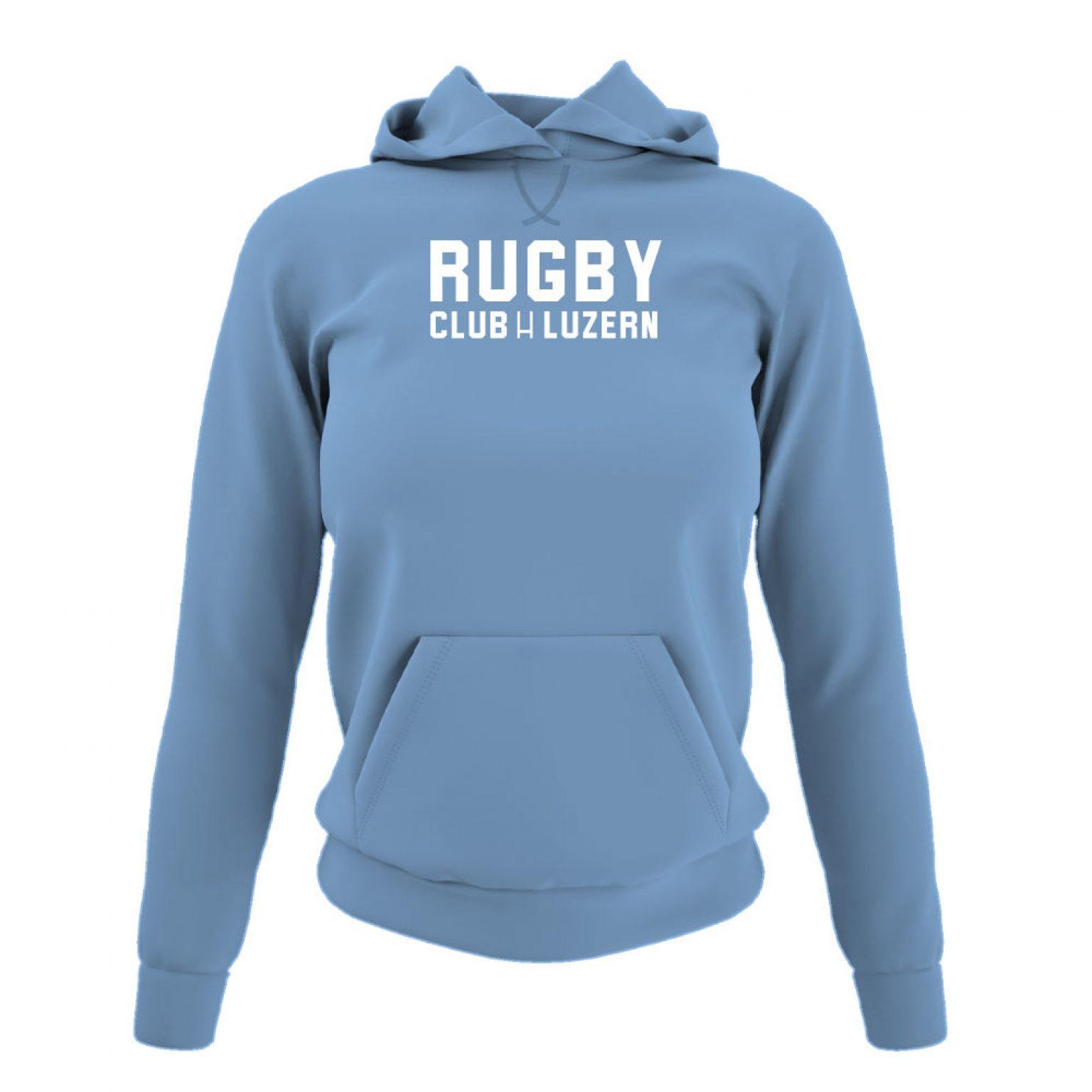 rugbyH hoodie damen sky