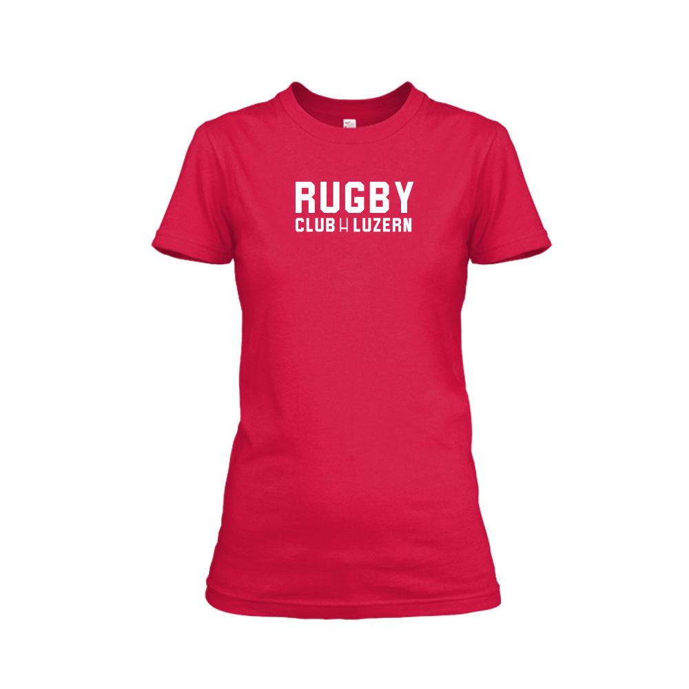 rugbyH shirt damen red