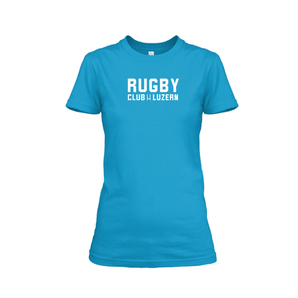 rugbyH shirt damen turqoise