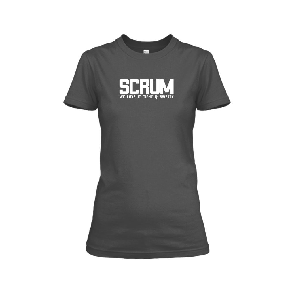 scrum shirt damen charcoal front