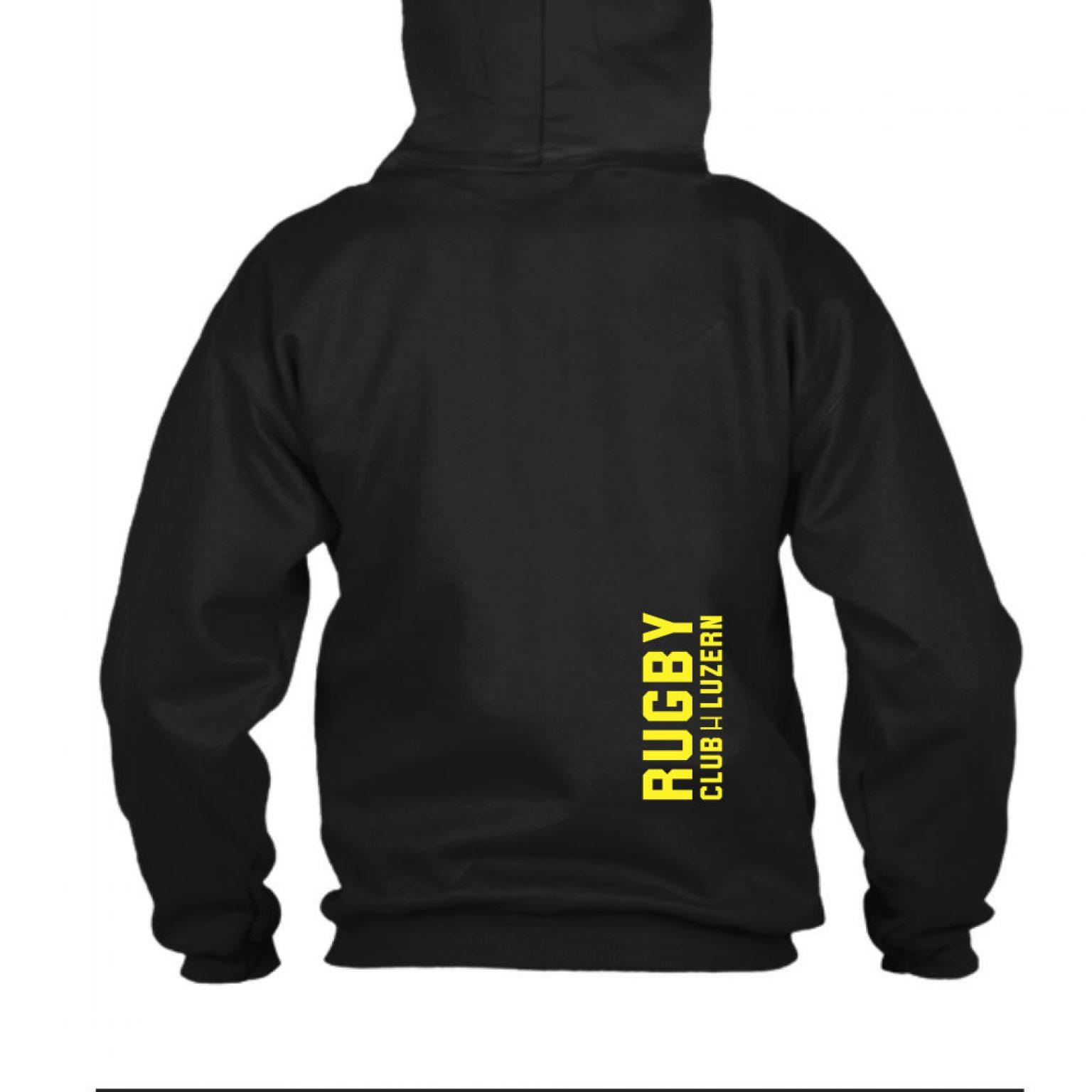 yesmom hoodie herren black back