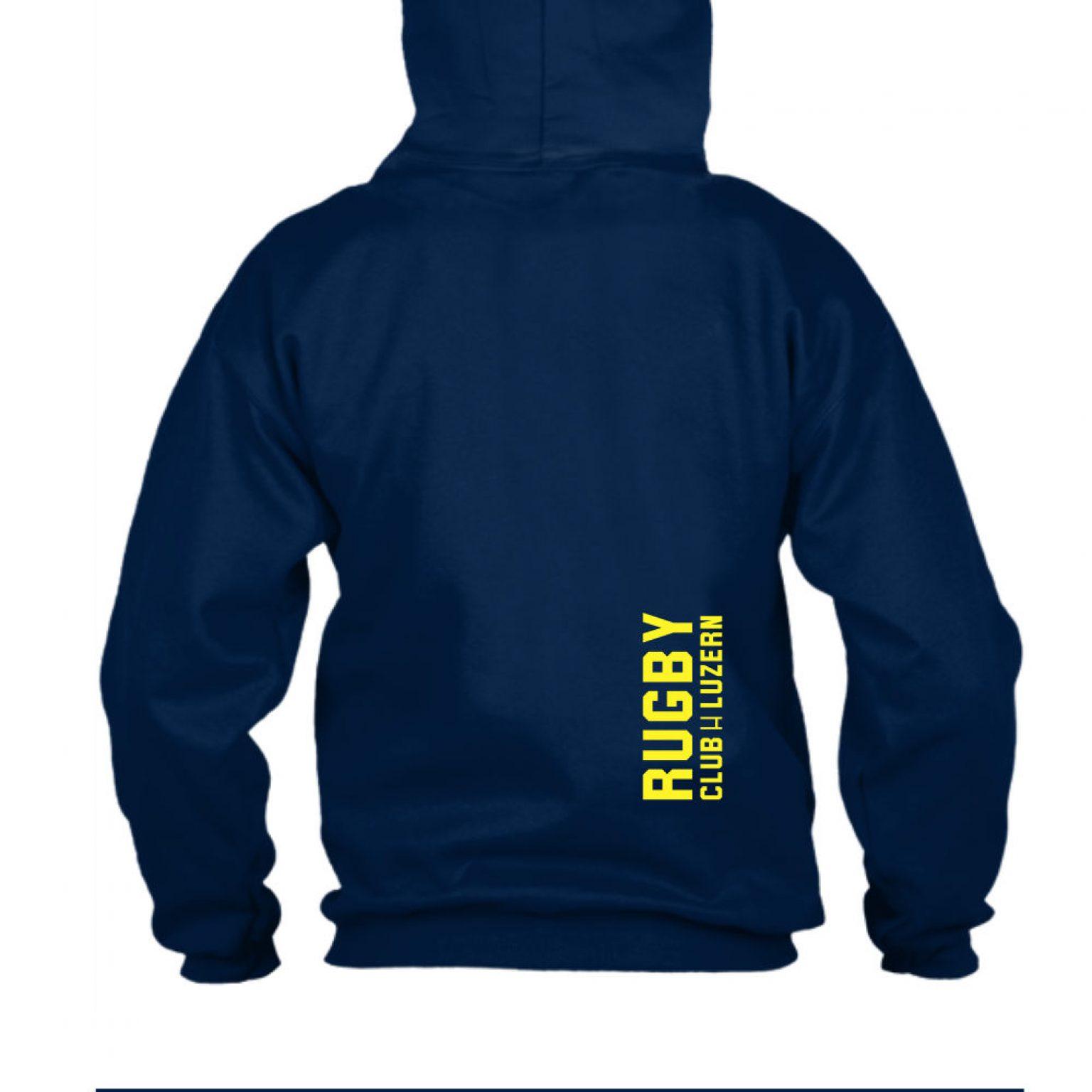 yesmom hoodie herren navy back