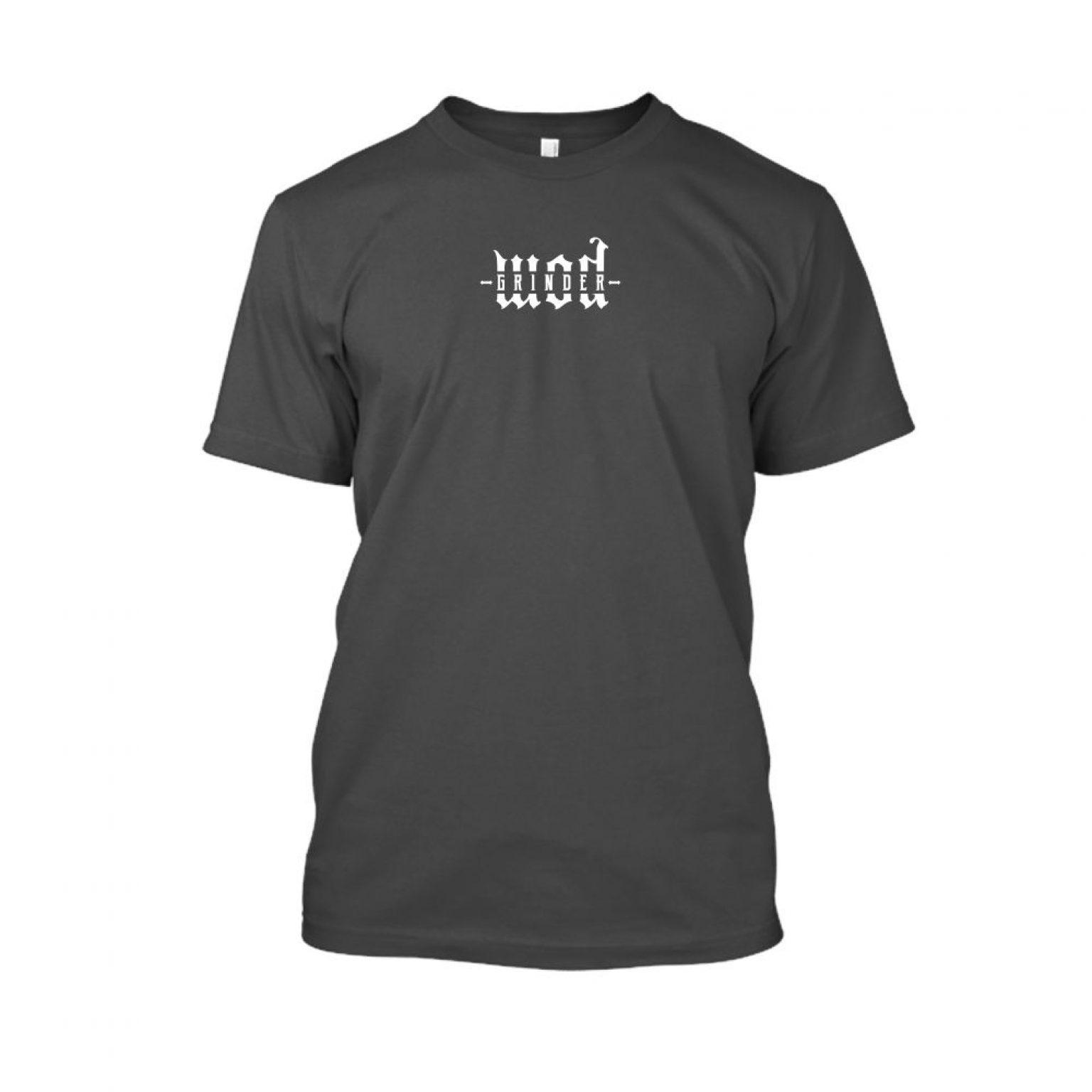 WODgrind herren shirt charcoal