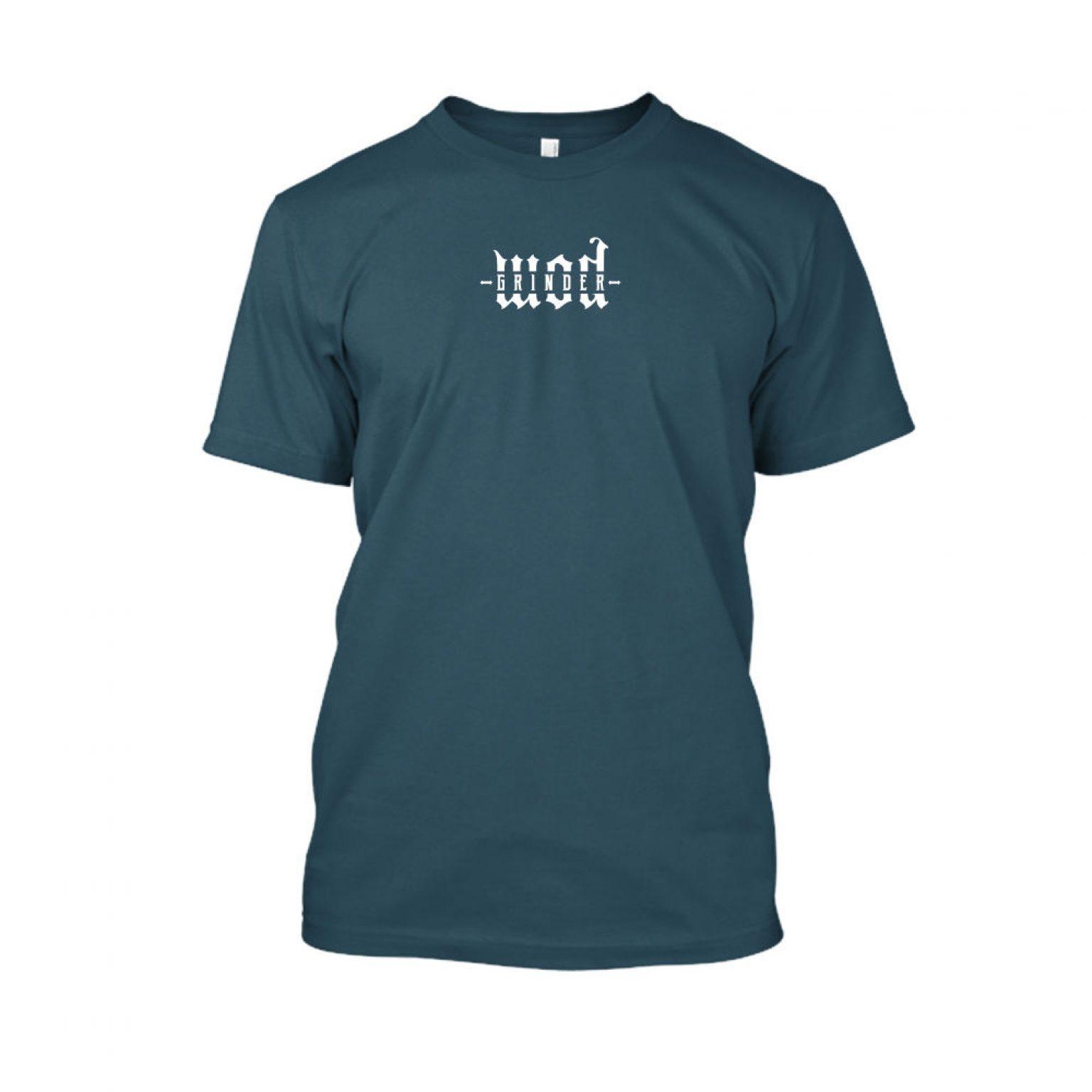 WODgrind herren shirt navy
