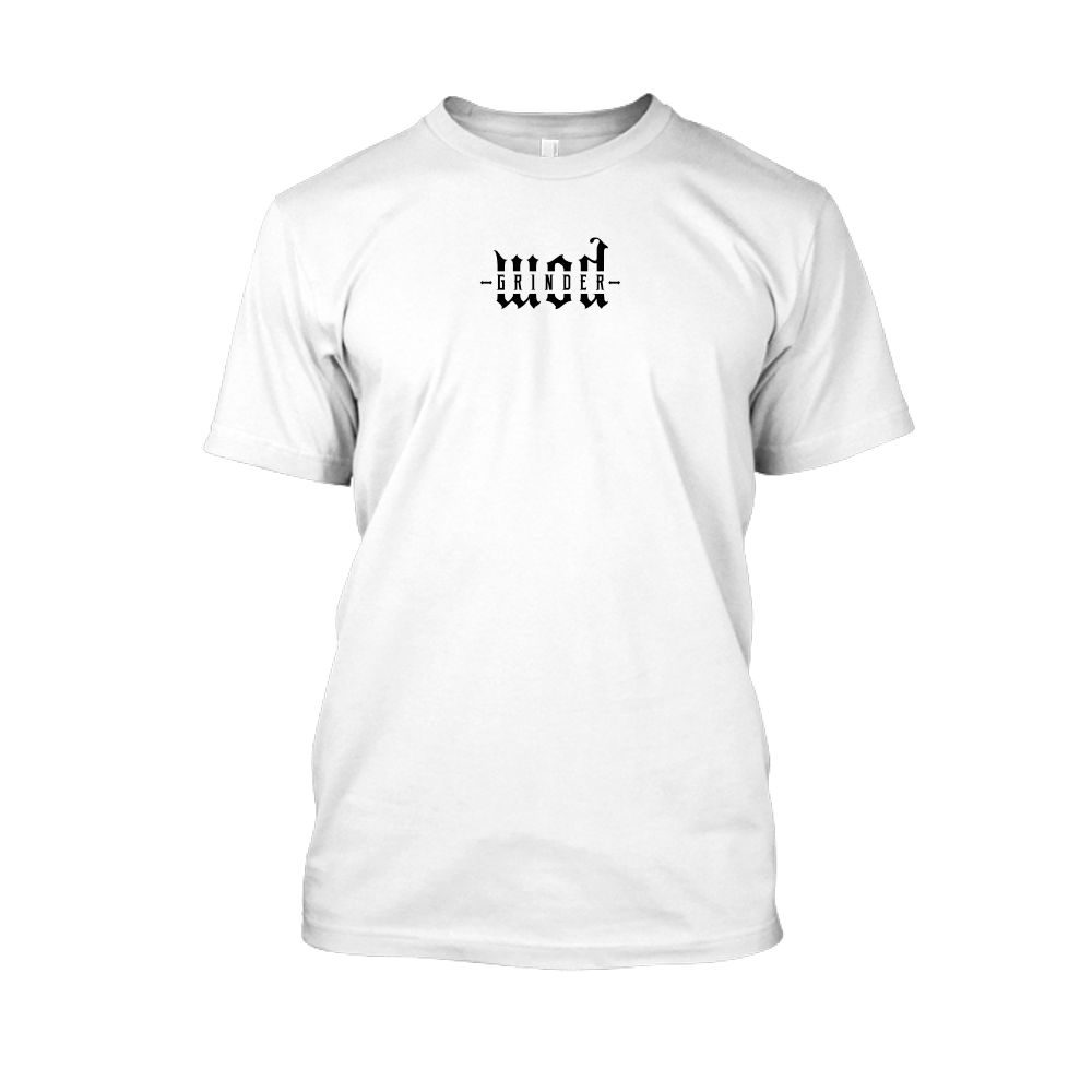 WODgrind herren shirt white