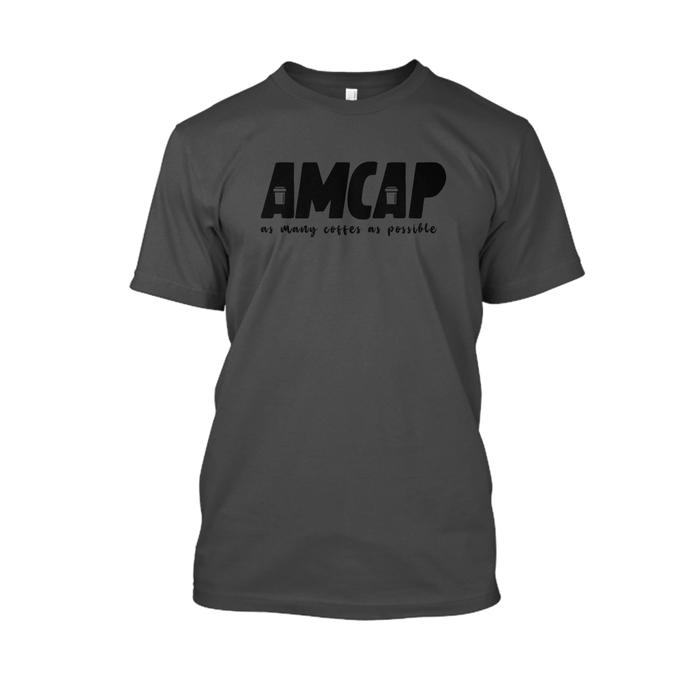 amcap Herren Shirt charcoal front