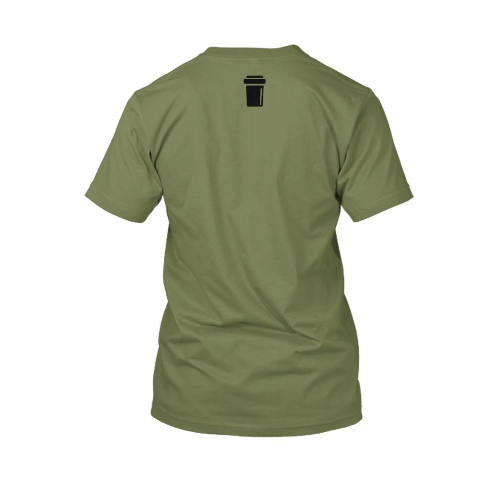 amcap Herren Shirt military back