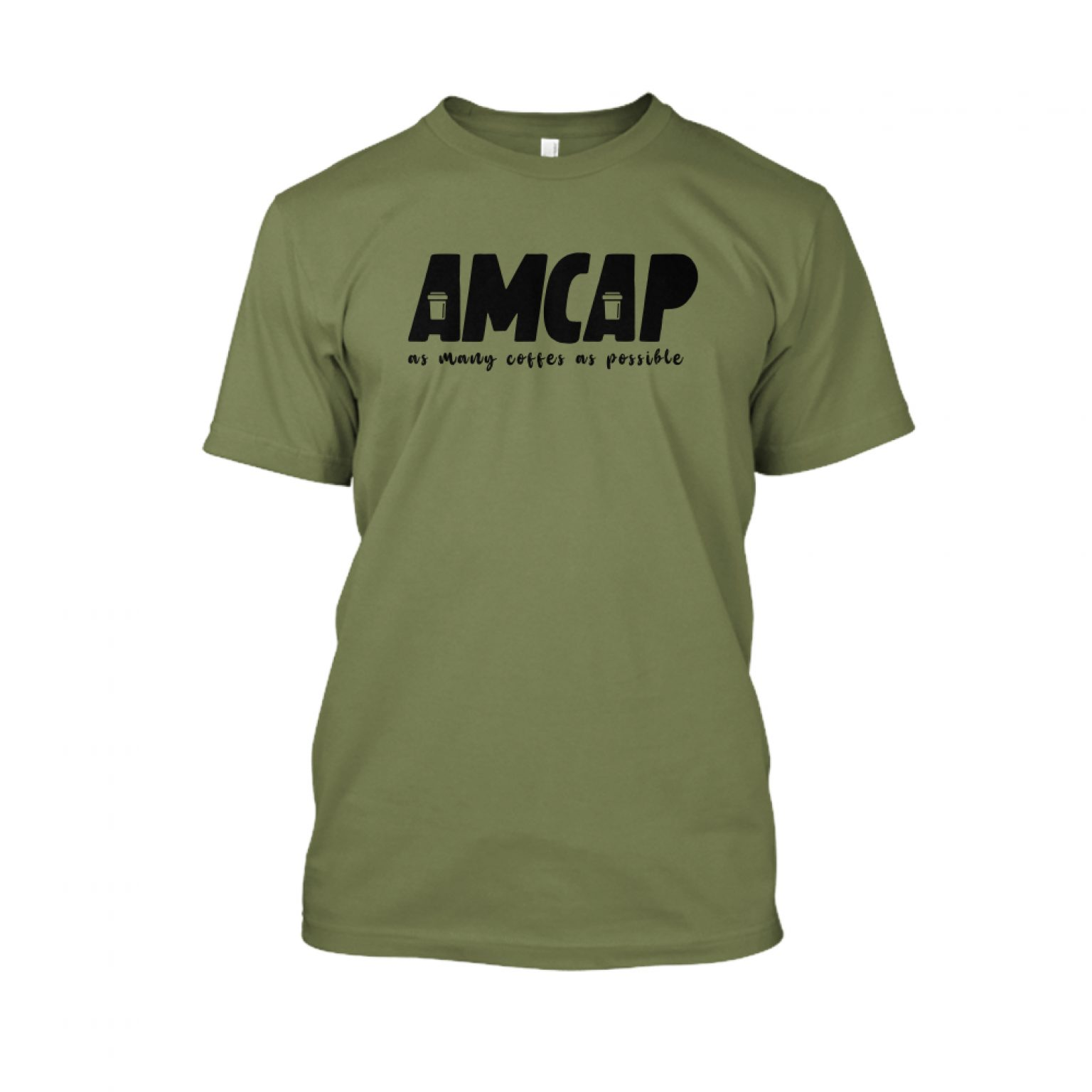 amcap Herren Shirt military front