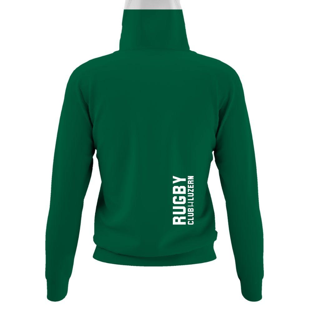 merryruckingchristmas damen hoodie green back
