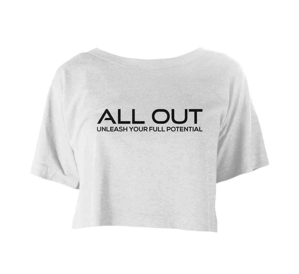 Allout Festival Crop weiss