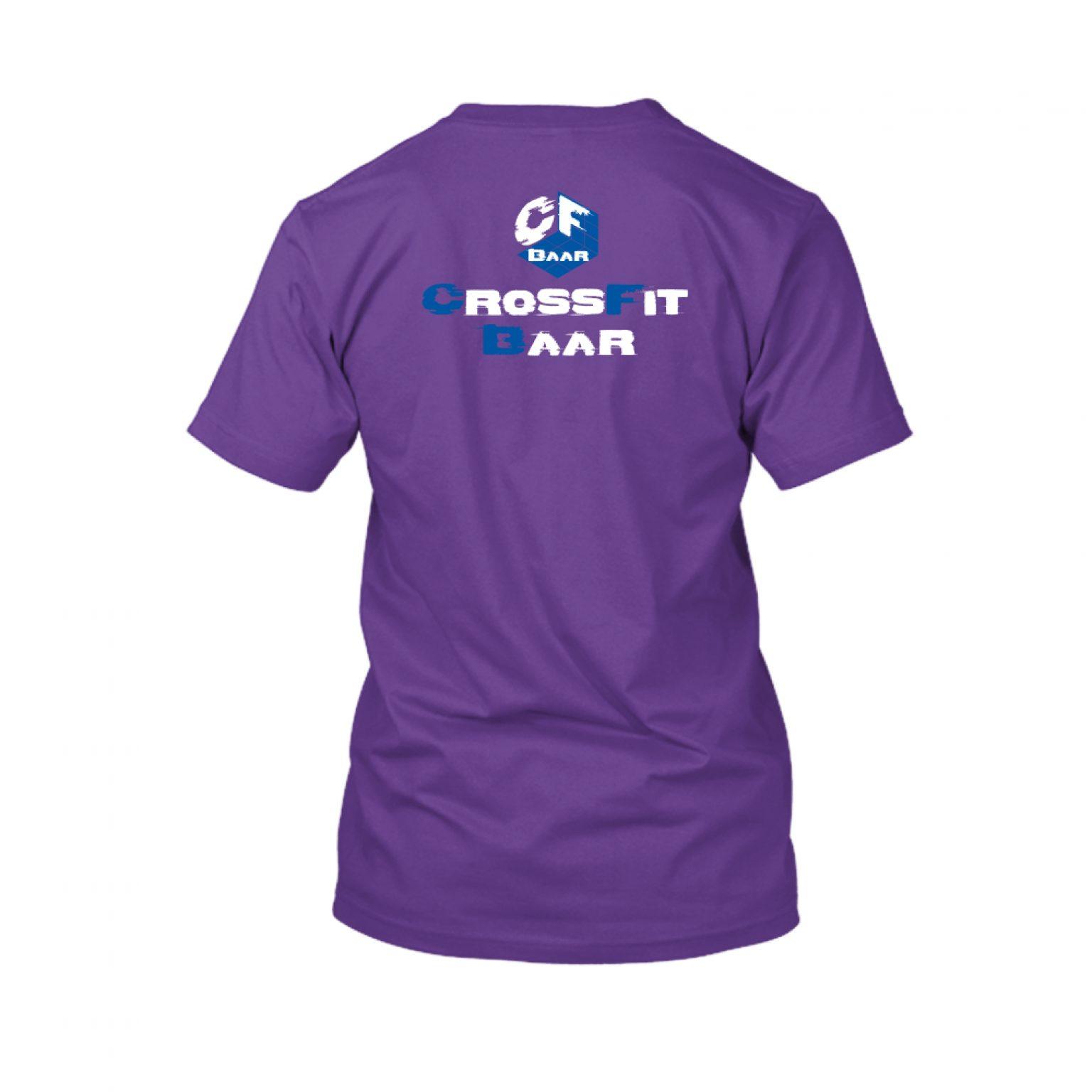 CFBaar Open21 Herren purple back