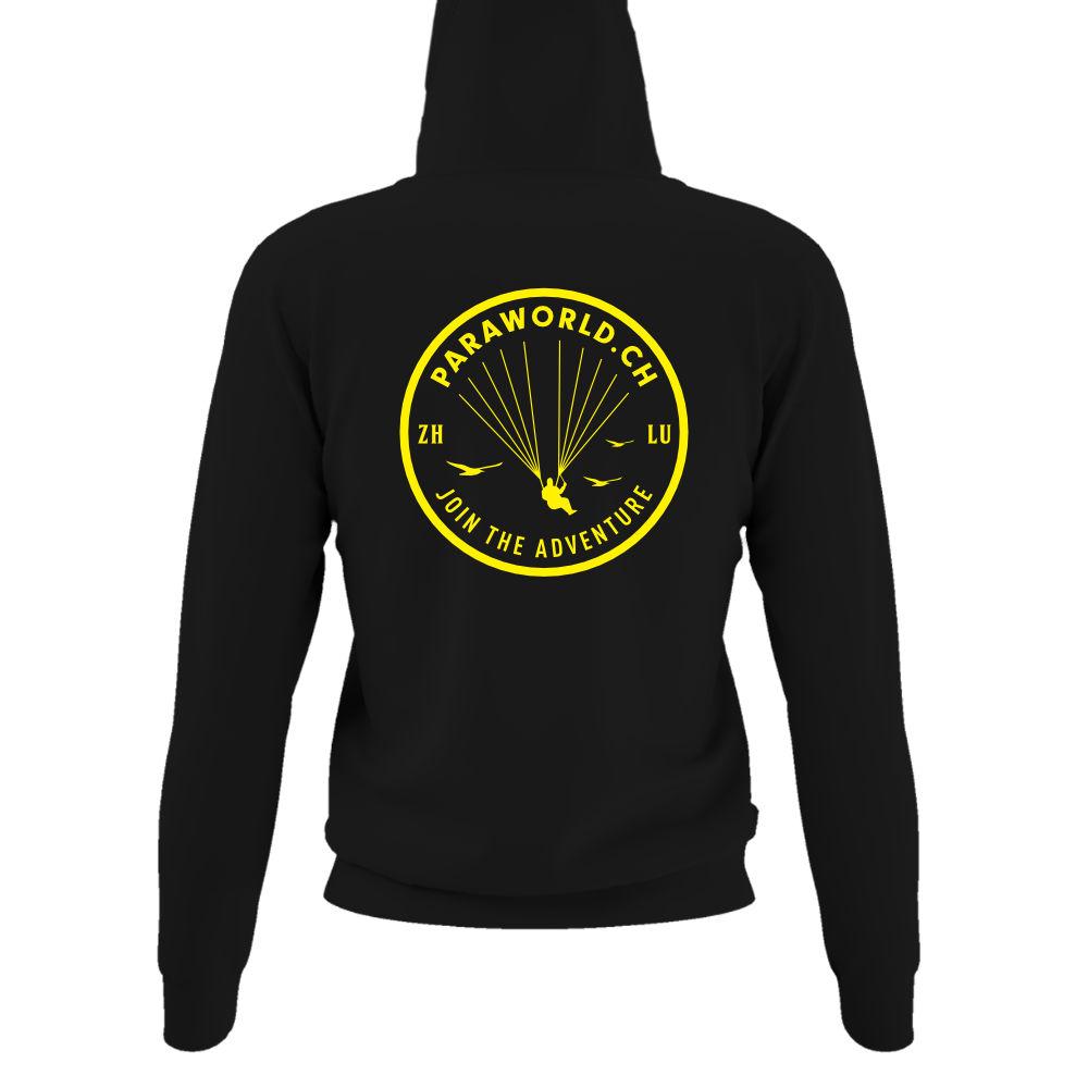 JTA b hoodie damen black back