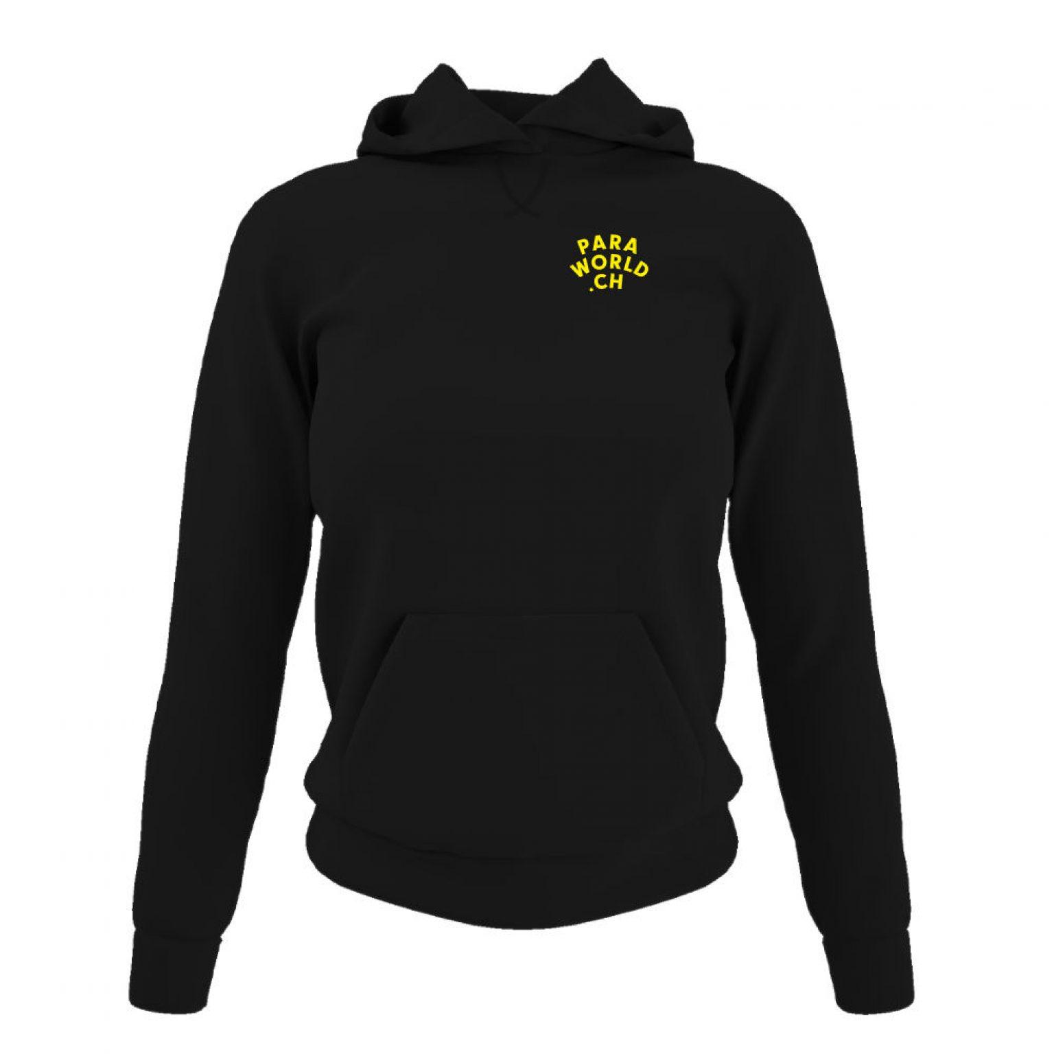 JTA b hoodie damen black front