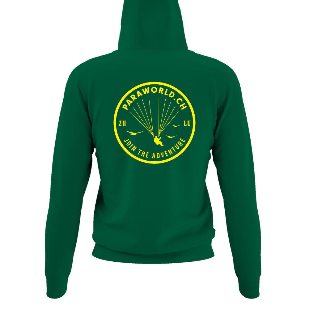 JTA b hoodie damen green back