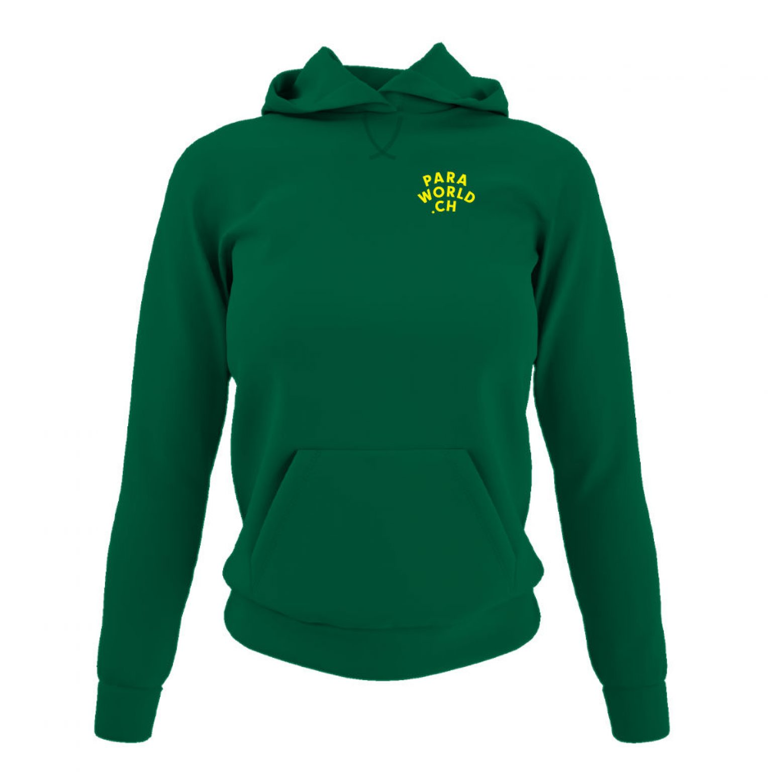 JTA b hoodie damen green front