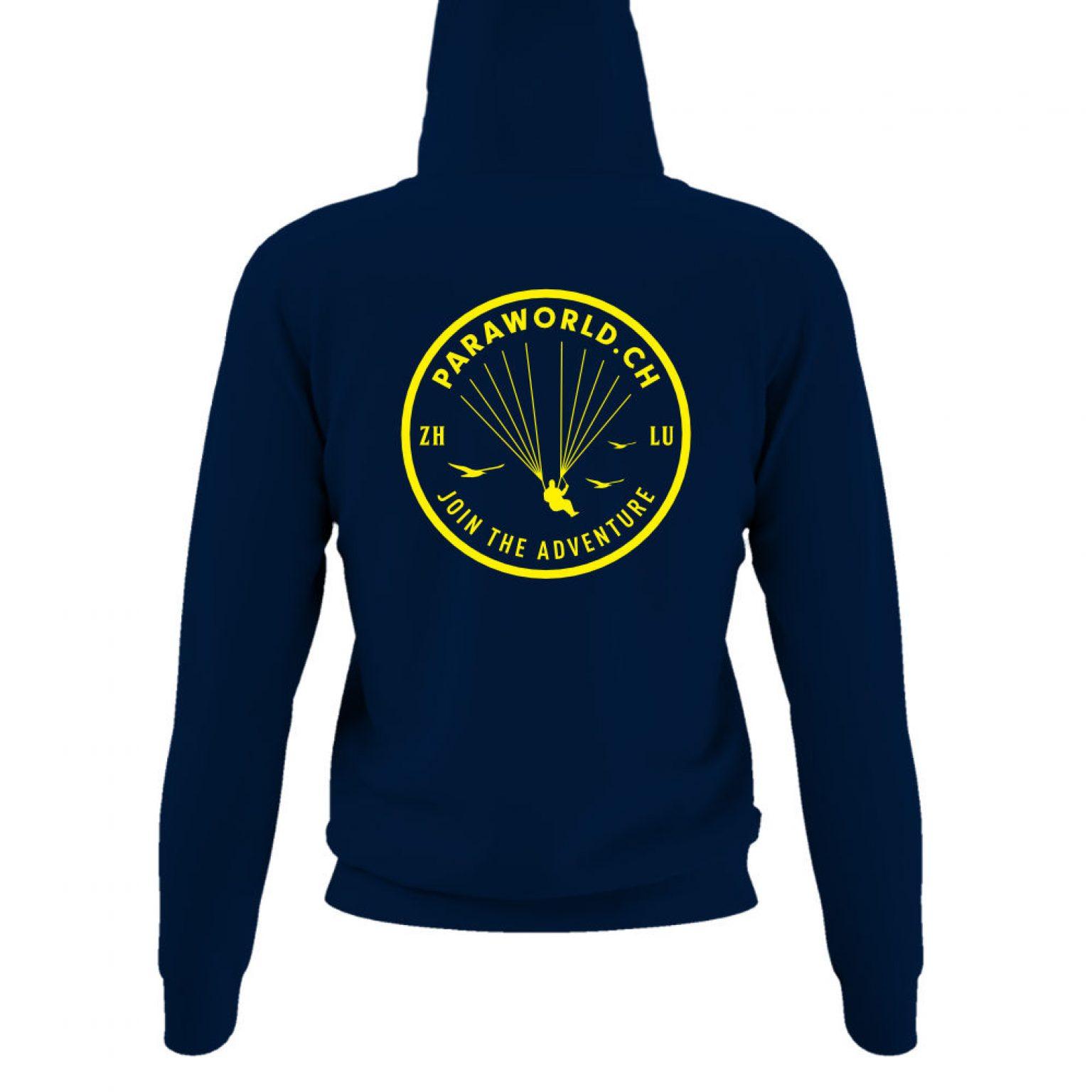 JTA b hoodie damen navy back