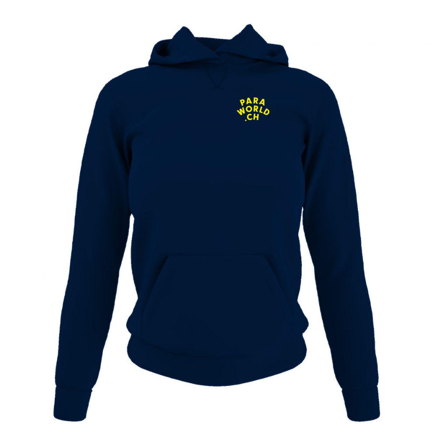 JTA b hoodie damen navy front