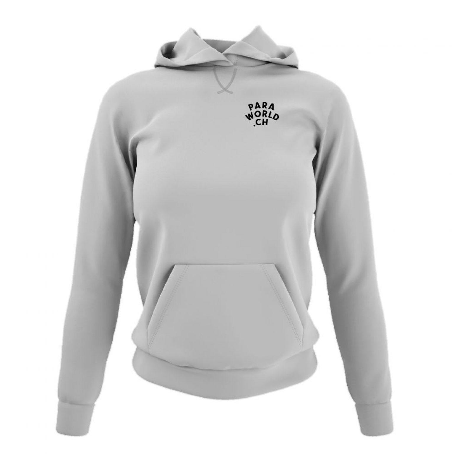 JTA b hoodie damen oxford front