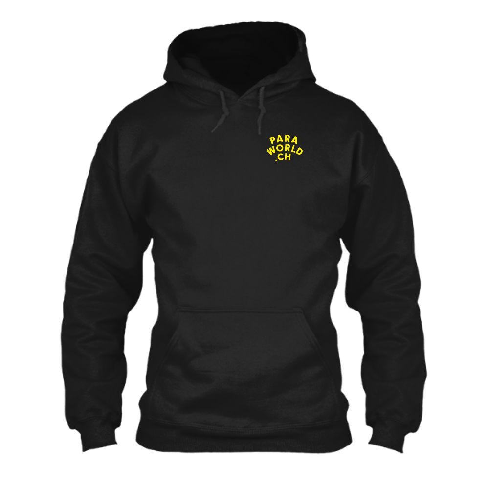JTA b hoodie herren black front