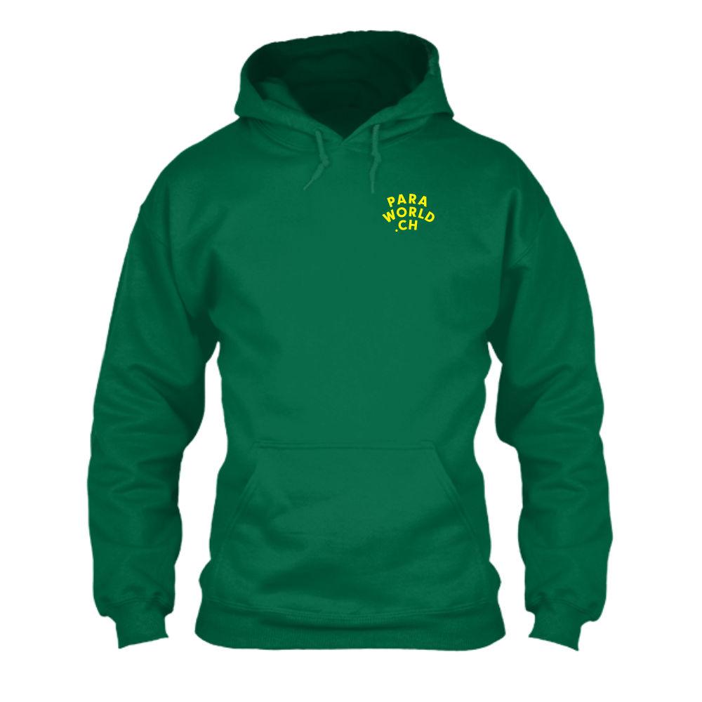 JTA b hoodie herren green front