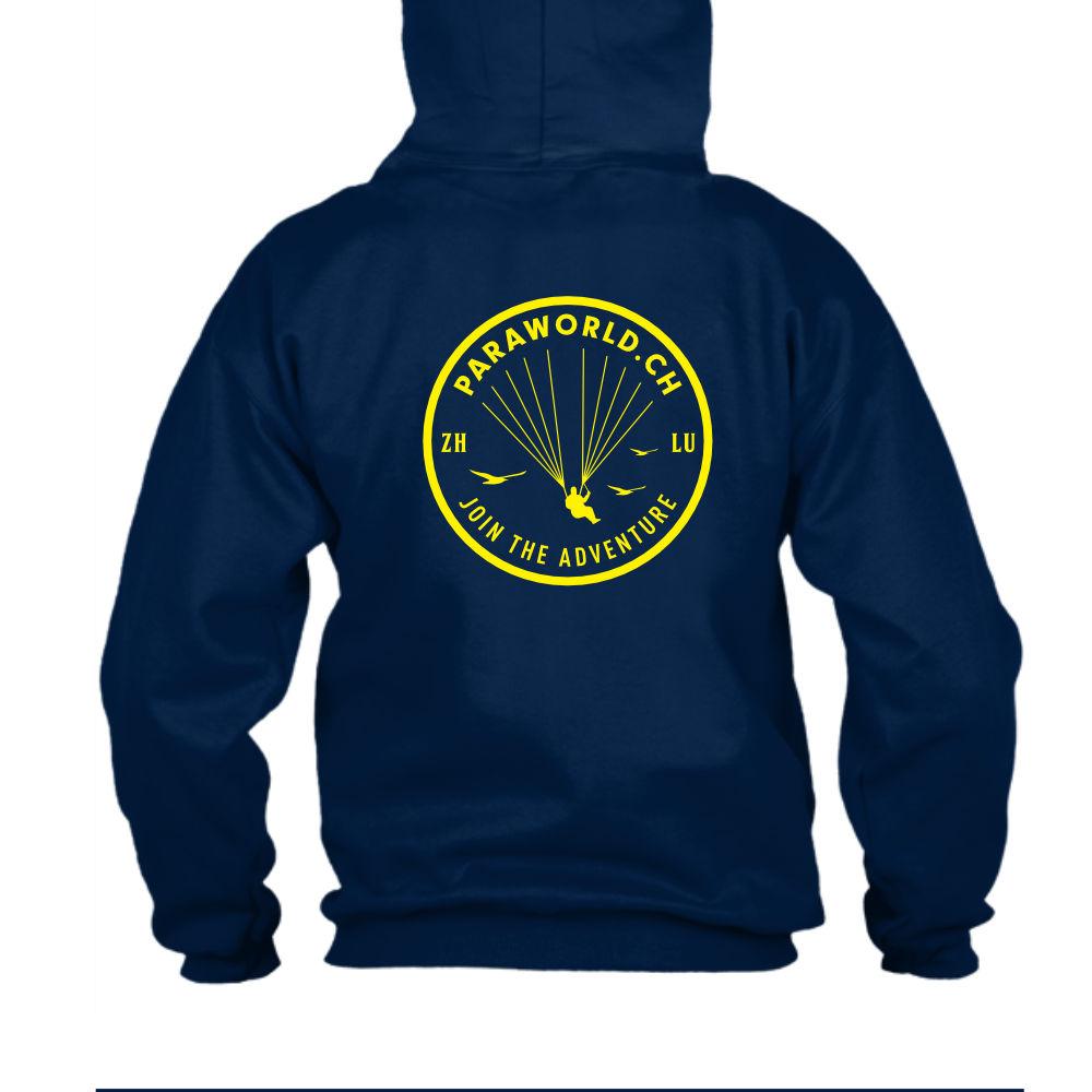 JTA b hoodie herren navy back