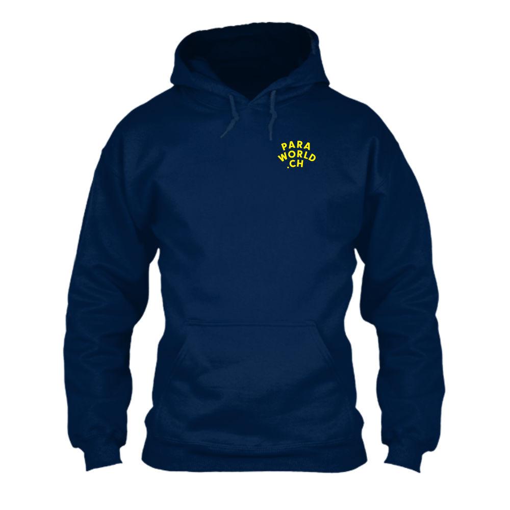 JTA b hoodie herren navy front