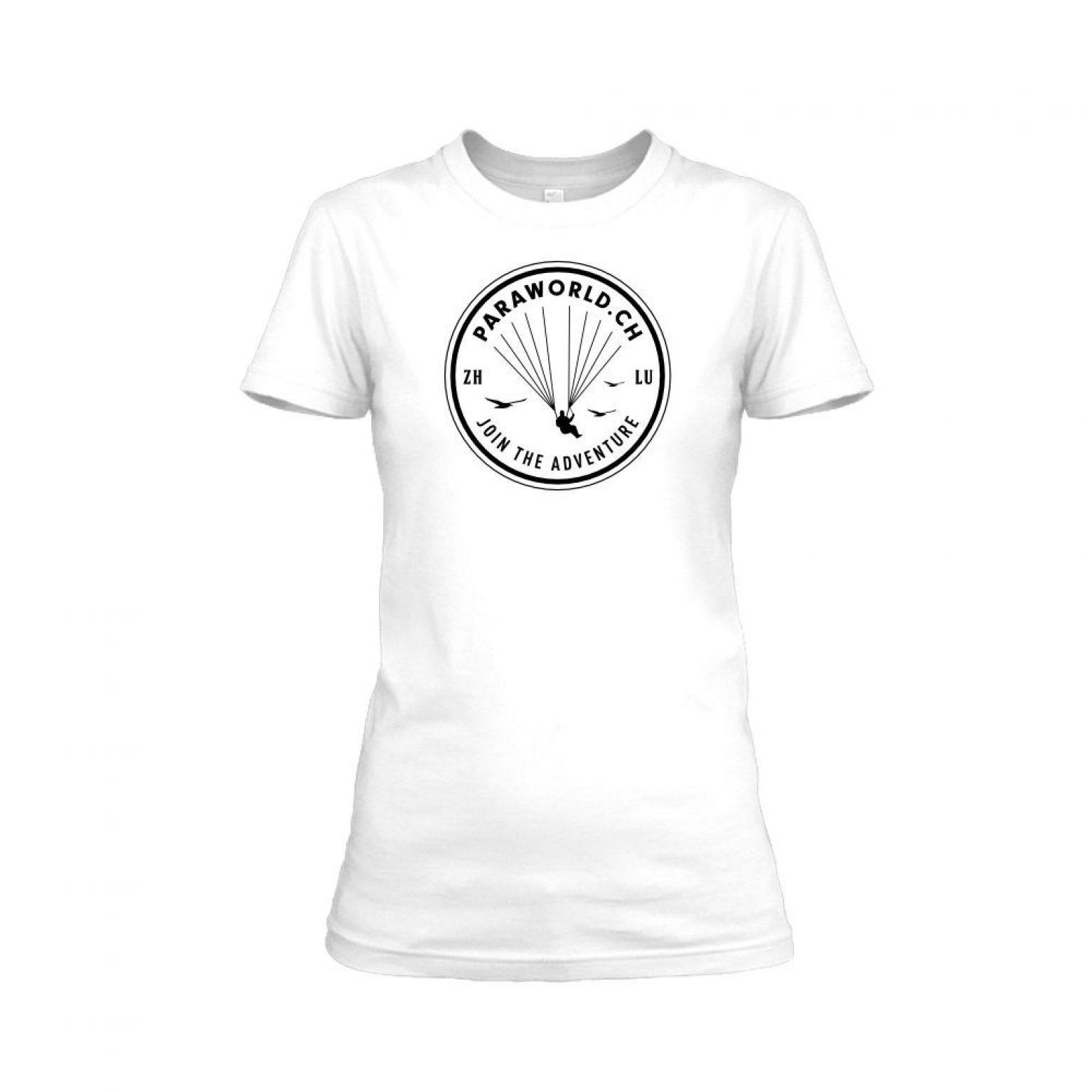 JTA black shirt damen white