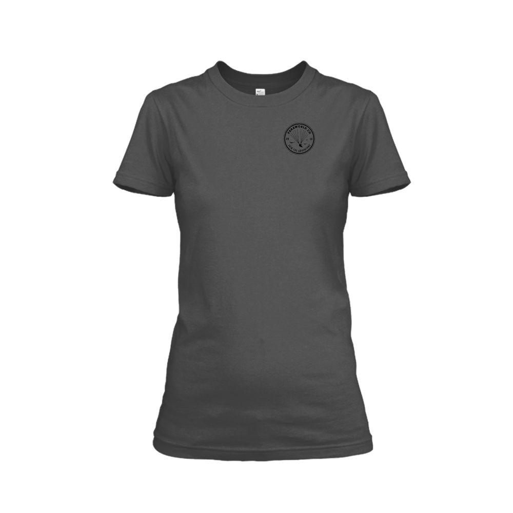 JTA s black shirt damen charcoal front