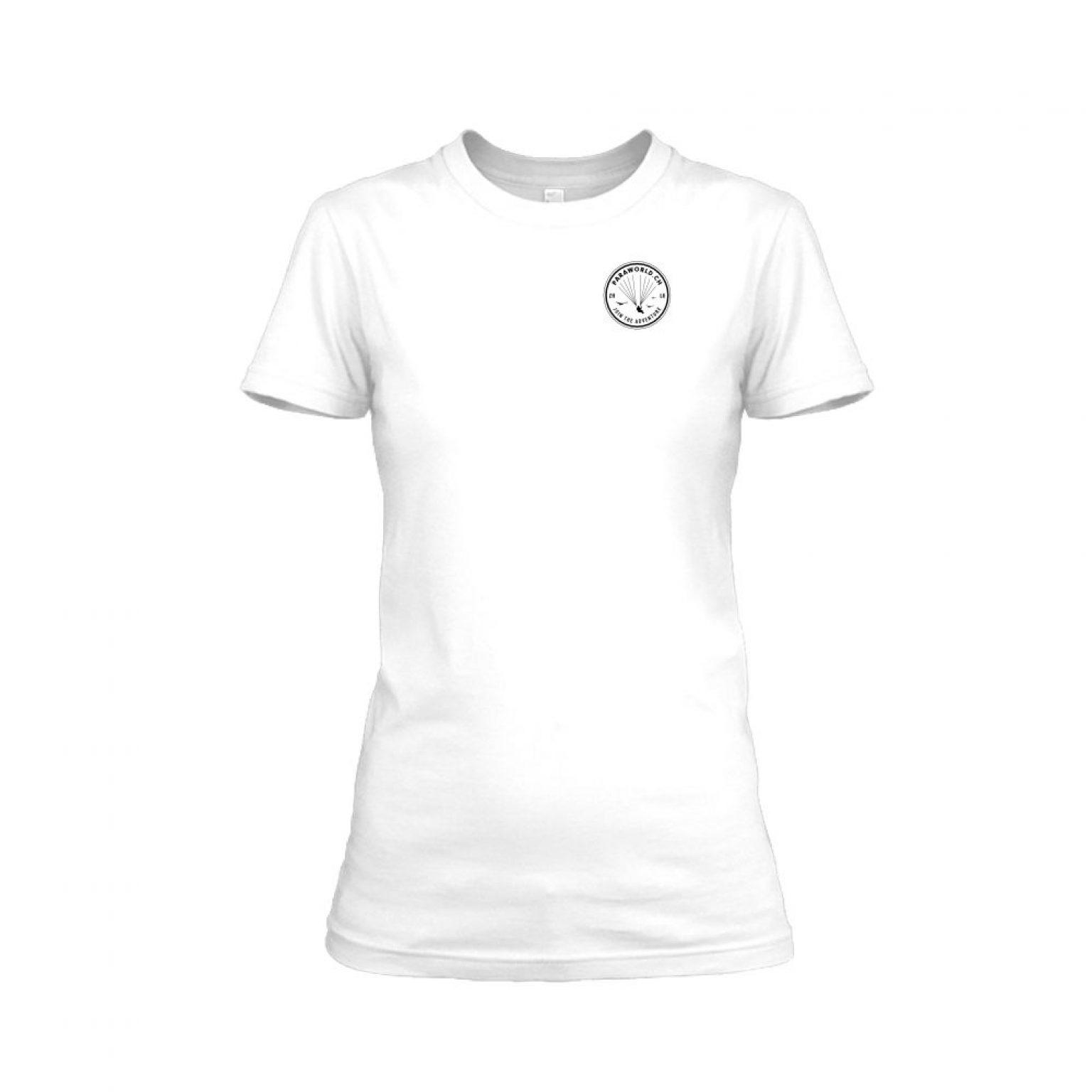JTA s black shirt damen white front
