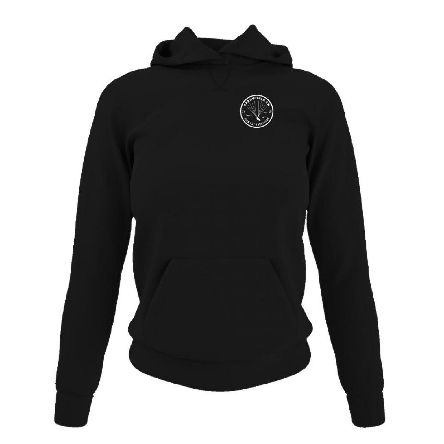 JTA s hoodie damen black front